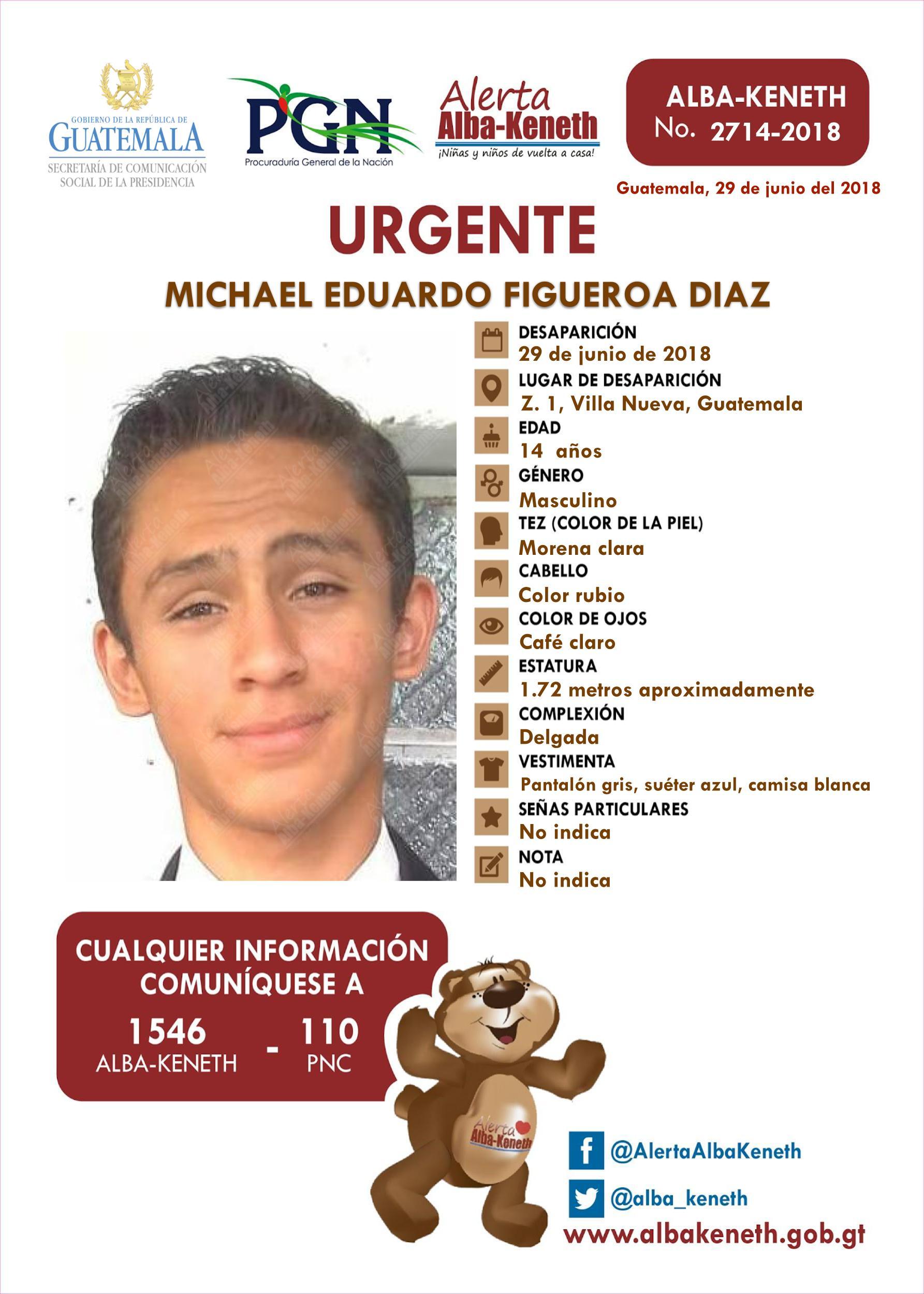 Michael Eduardo Figueroa Diaz