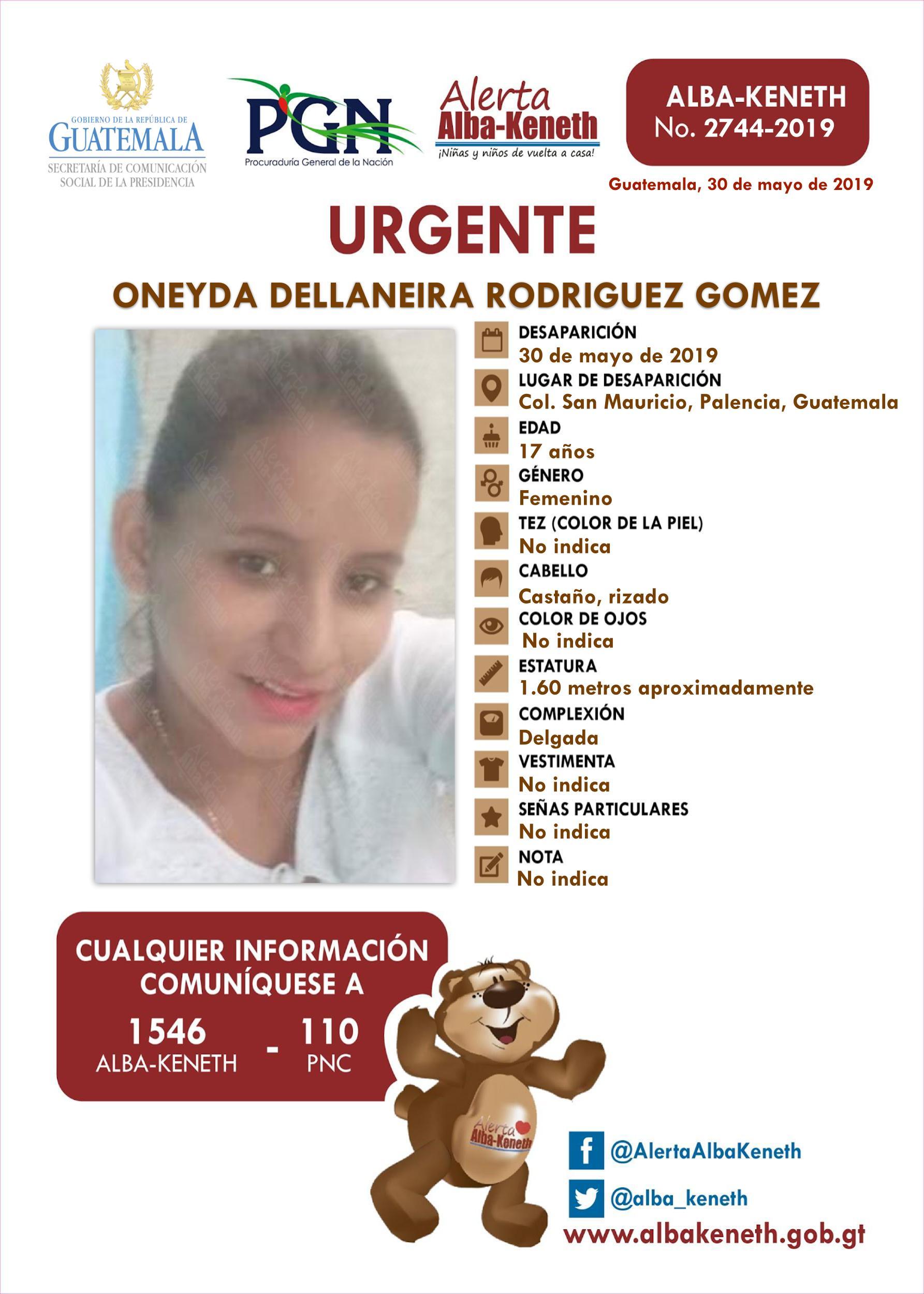 Oneyda Dellaneira Rodriguez Gomez