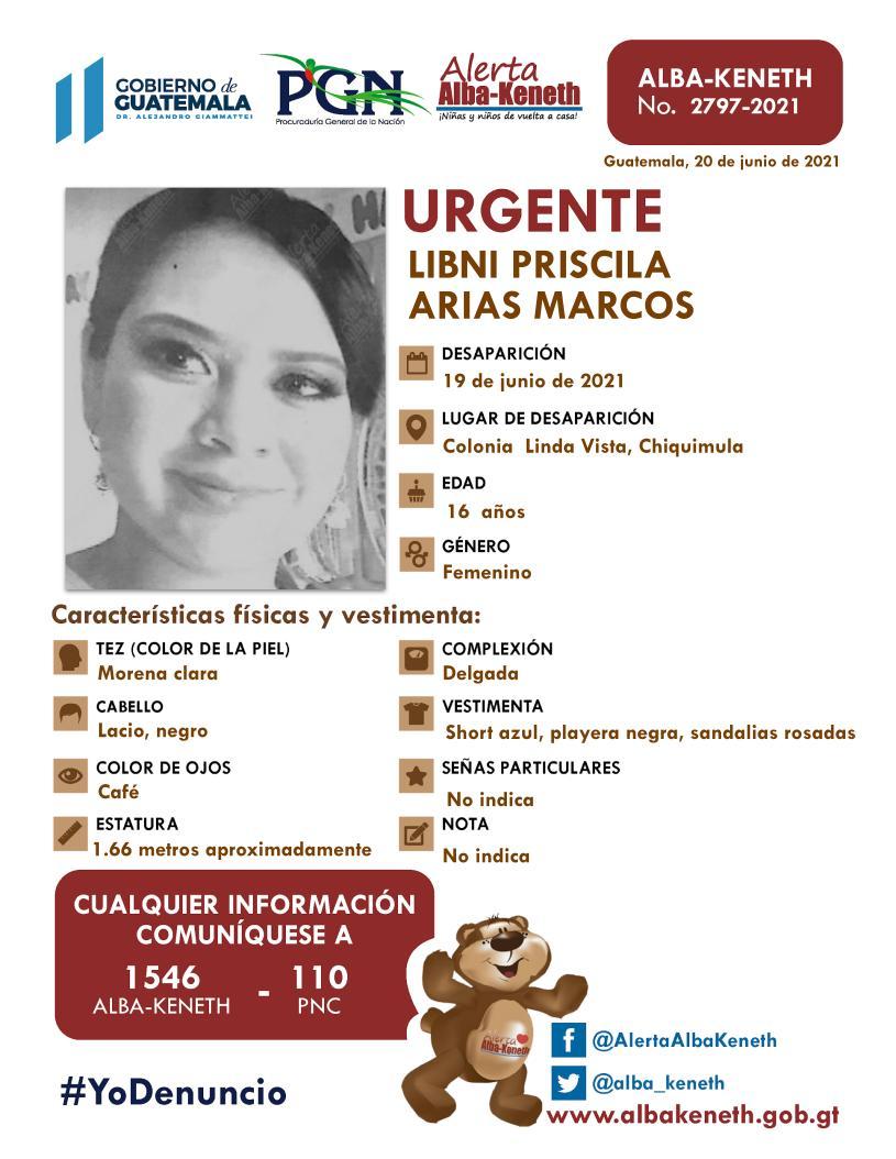 Libni Priscila Arias Marcos
