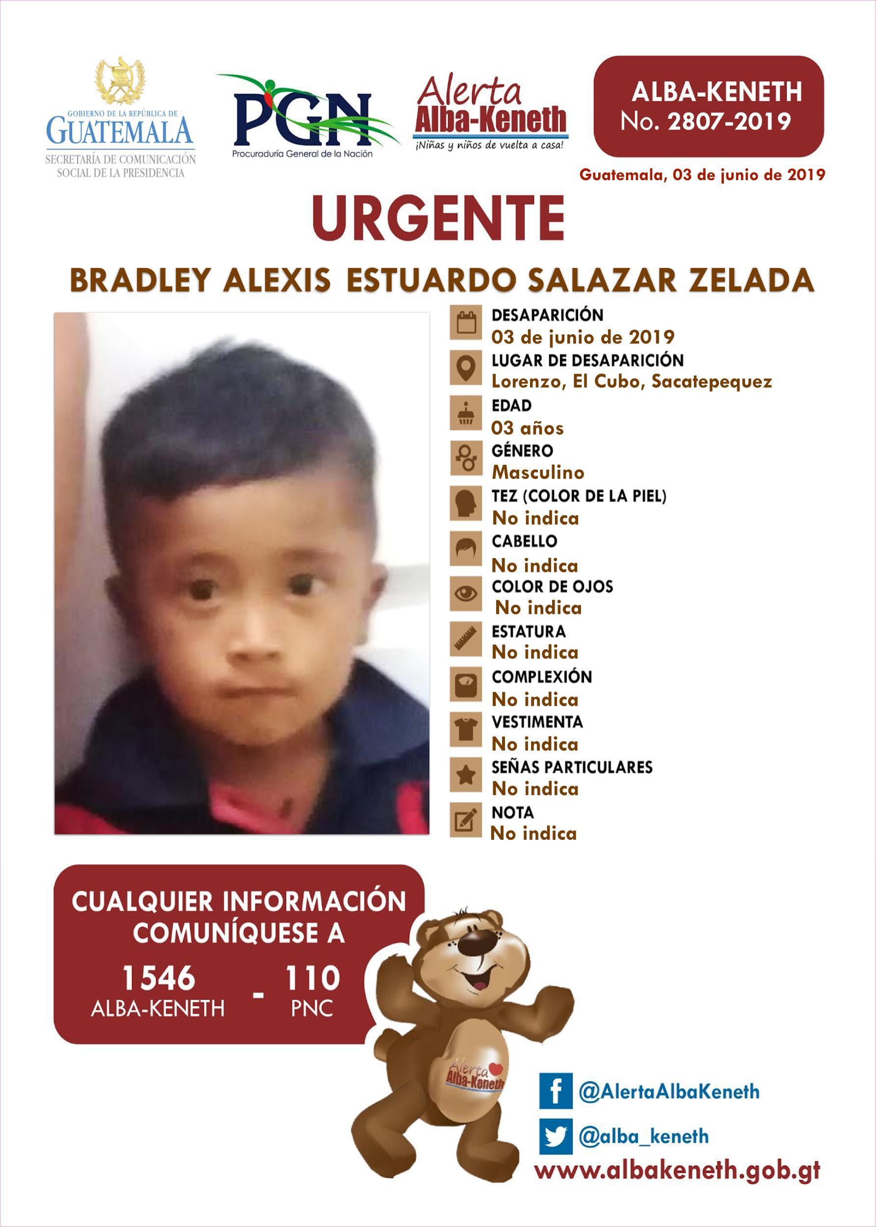 Bradley Alexis Estuardo Salazar Zelada