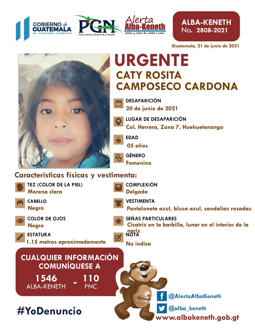 Caty Rosita Camposeco Cardona