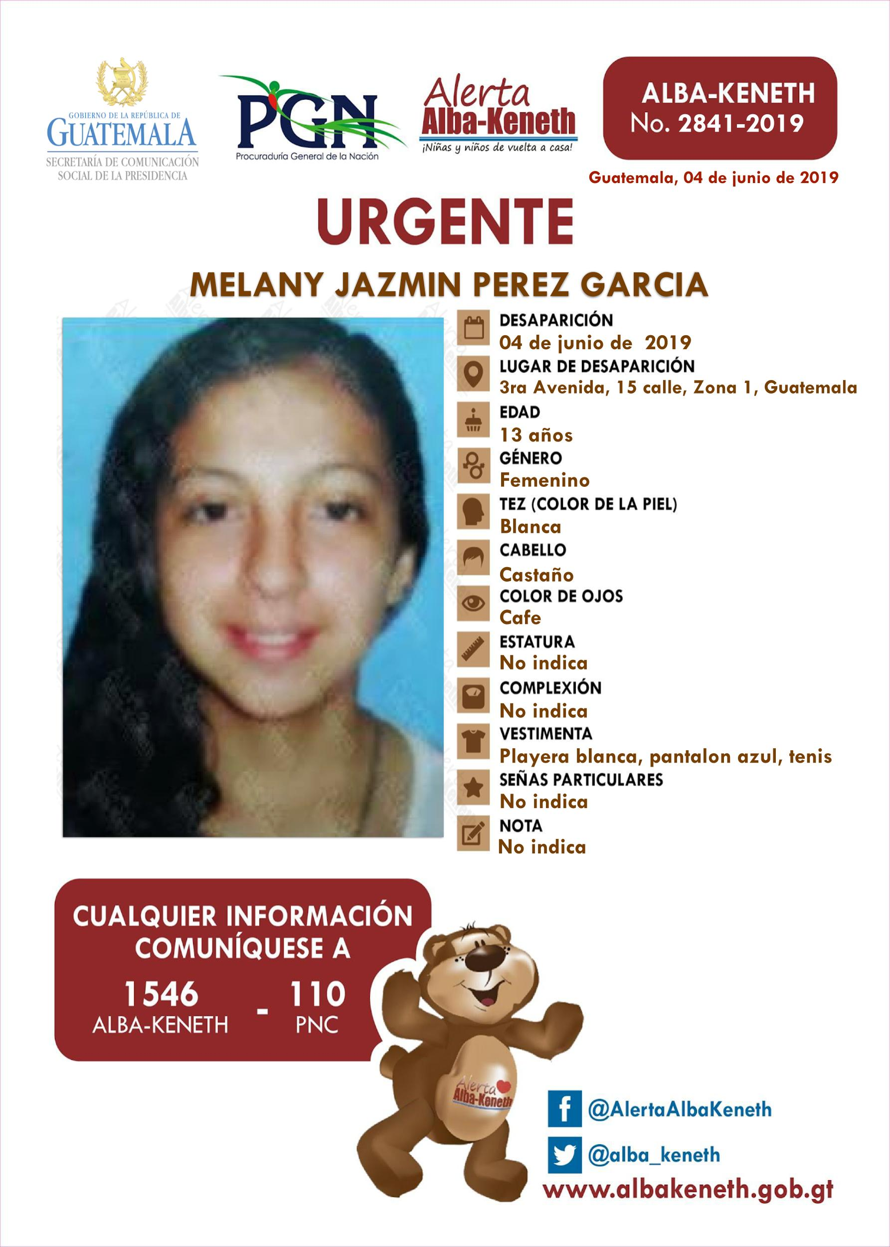 Melany Jazmin Perez Garcia