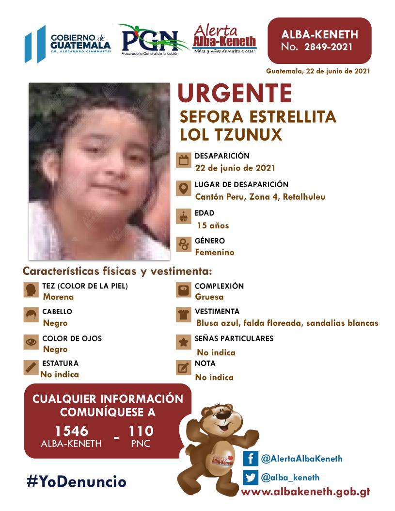 Sefora Estrellita Lol Tzunux