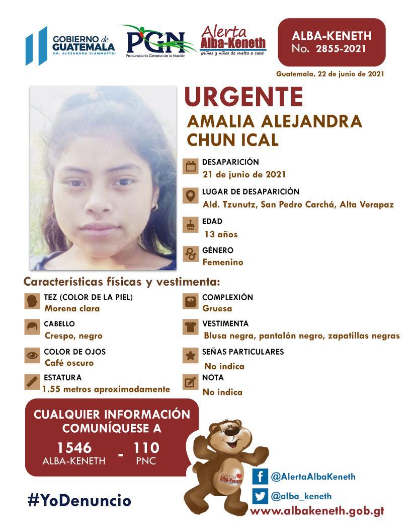 Amalia Alejandra Chun Ical
