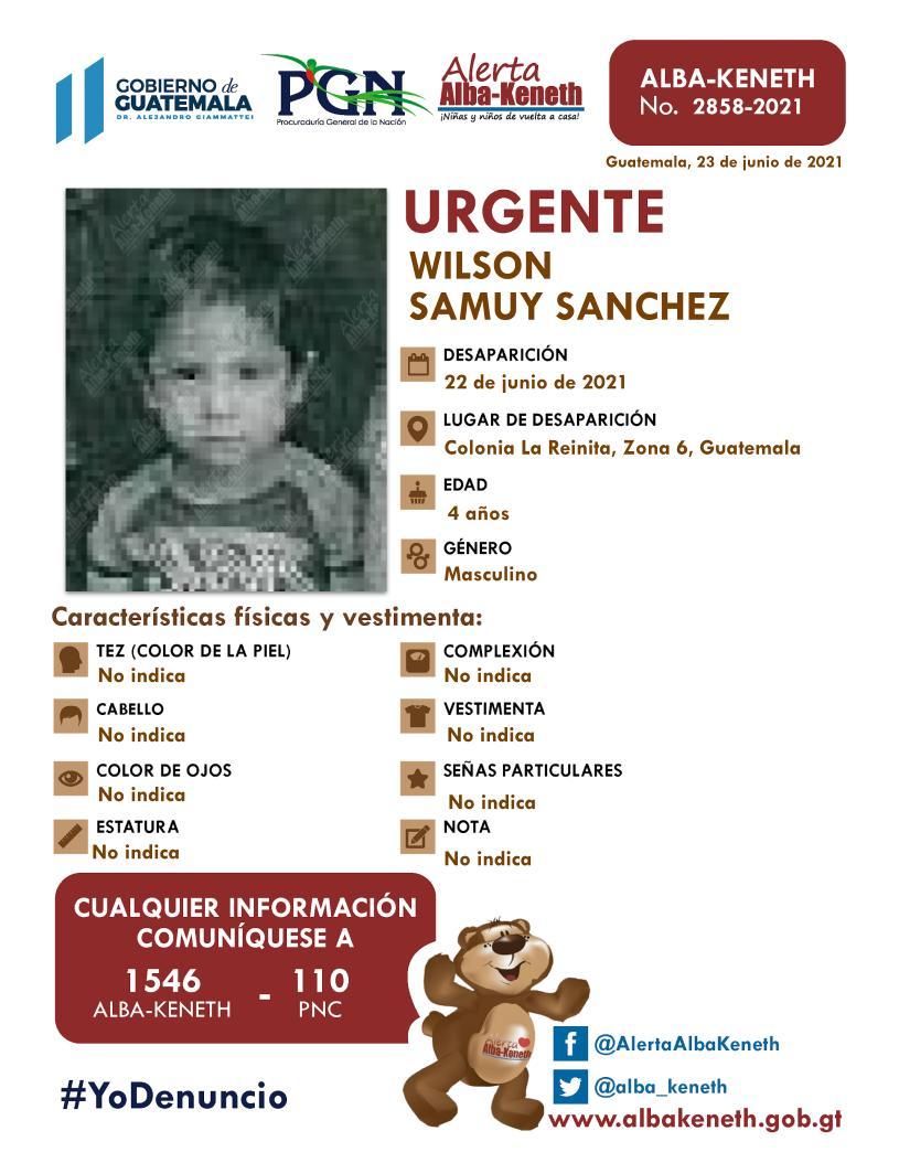 Wilson Samuy Sanchez