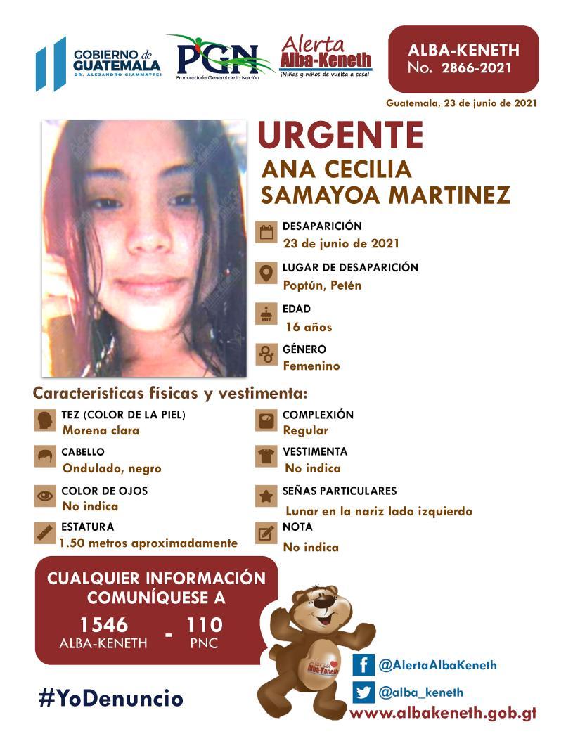 Ana Cecilia Samayoa Martinez