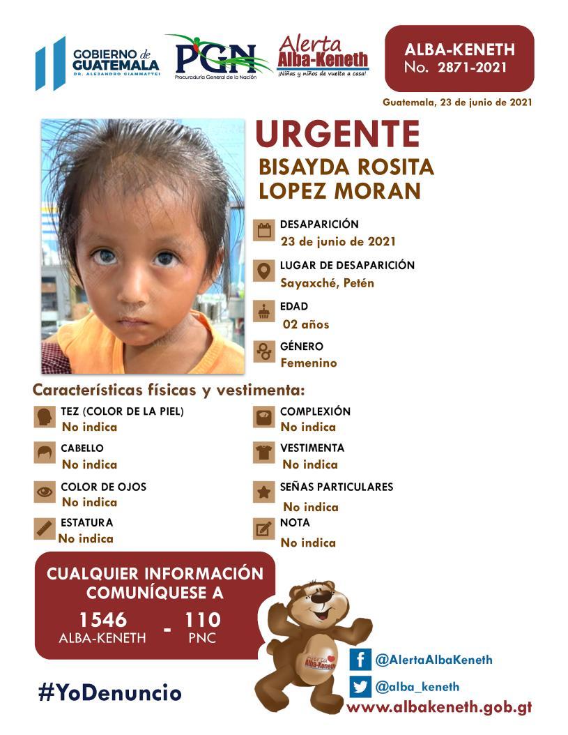 Bisayda Rosita Lopez Moran