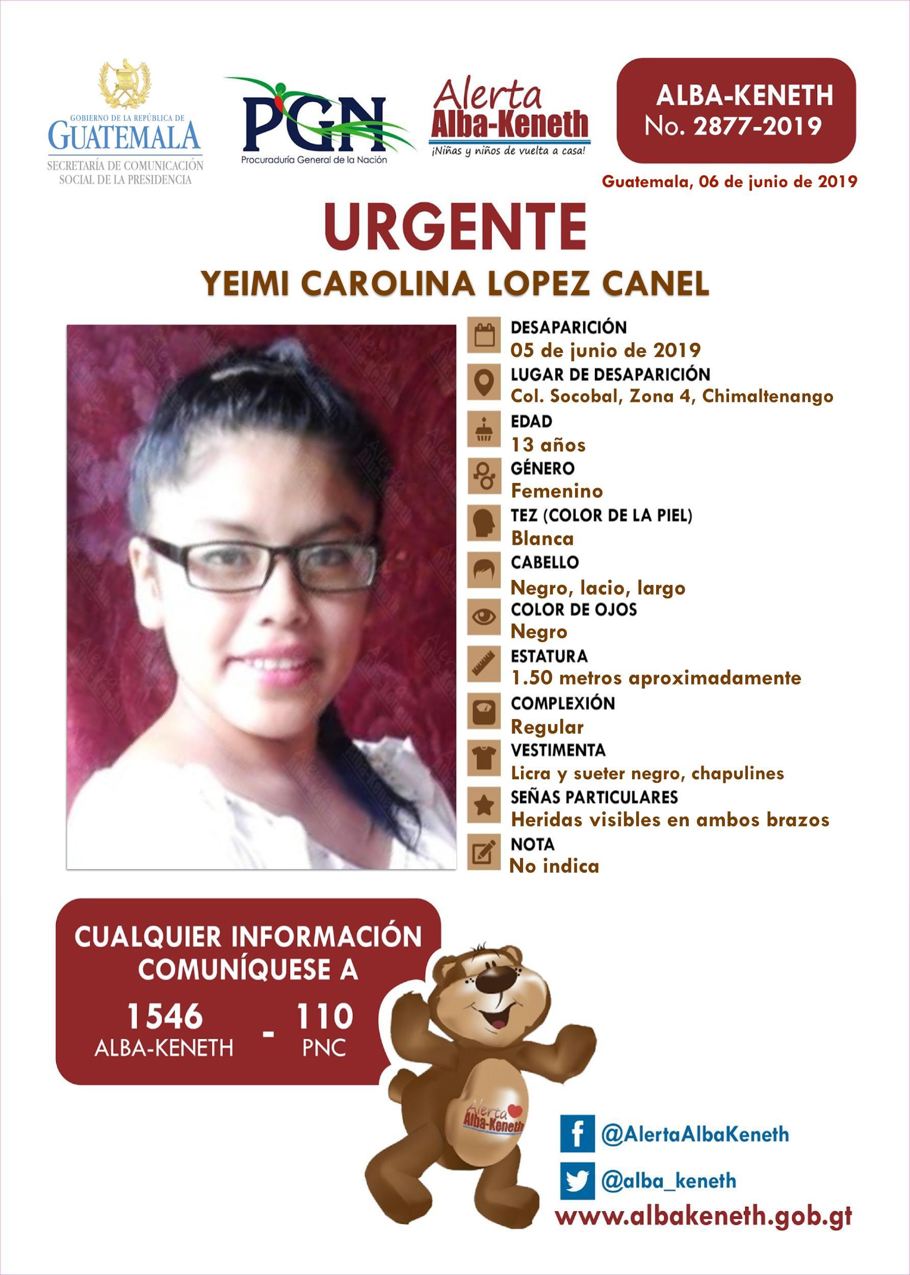 Yeimi Carolina Lopez Canel