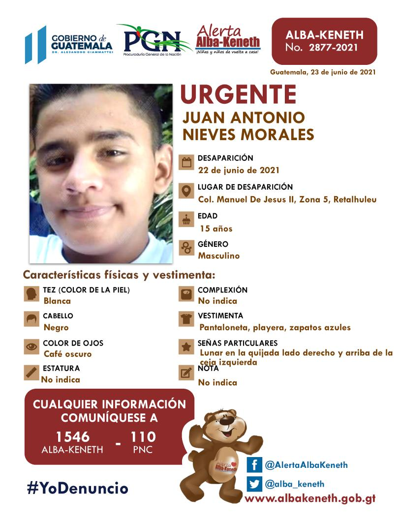 Juan Antonio Nieves Morales