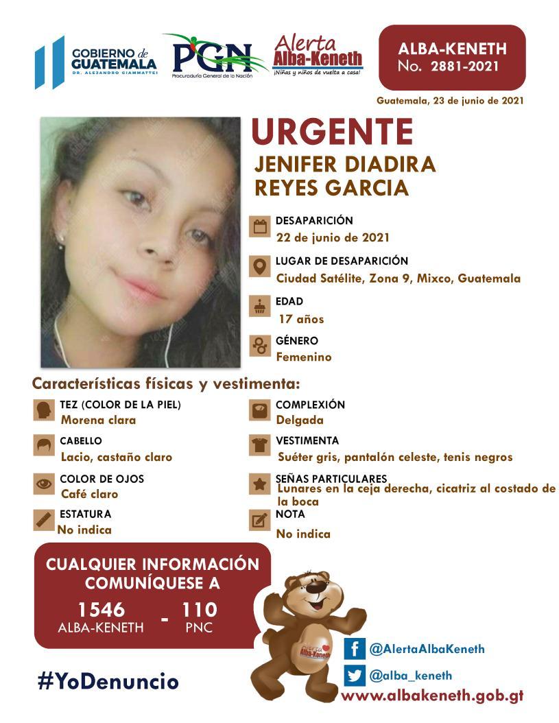 Jenifer Diadira Reyes Garcia