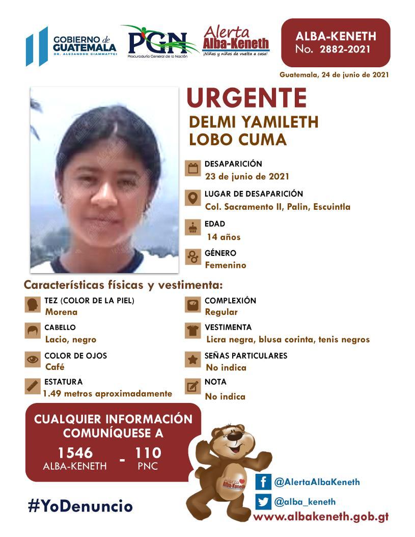 Delmi Yamileth Lobo Cuma