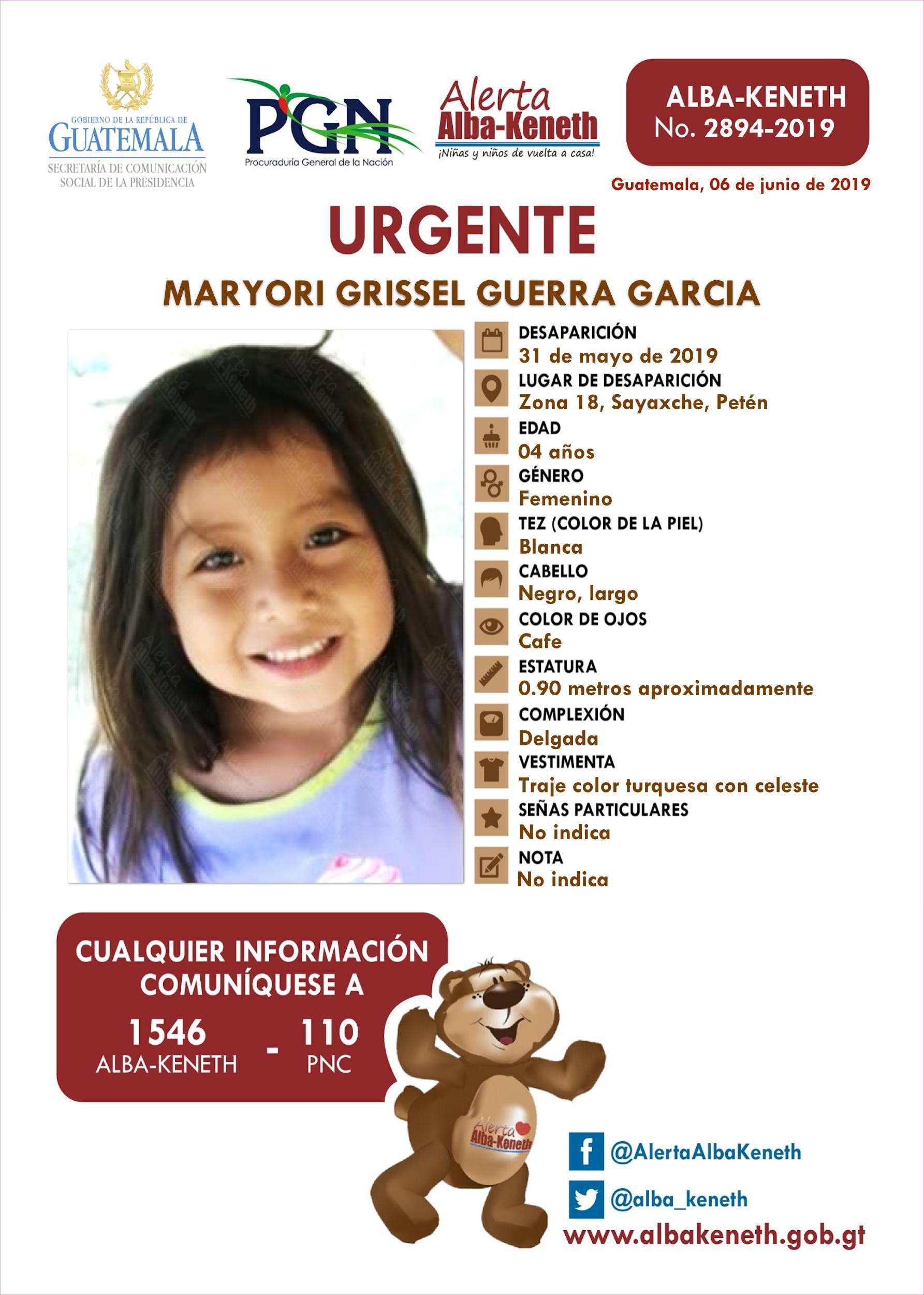 Maryori Grissel Guerra Garcia