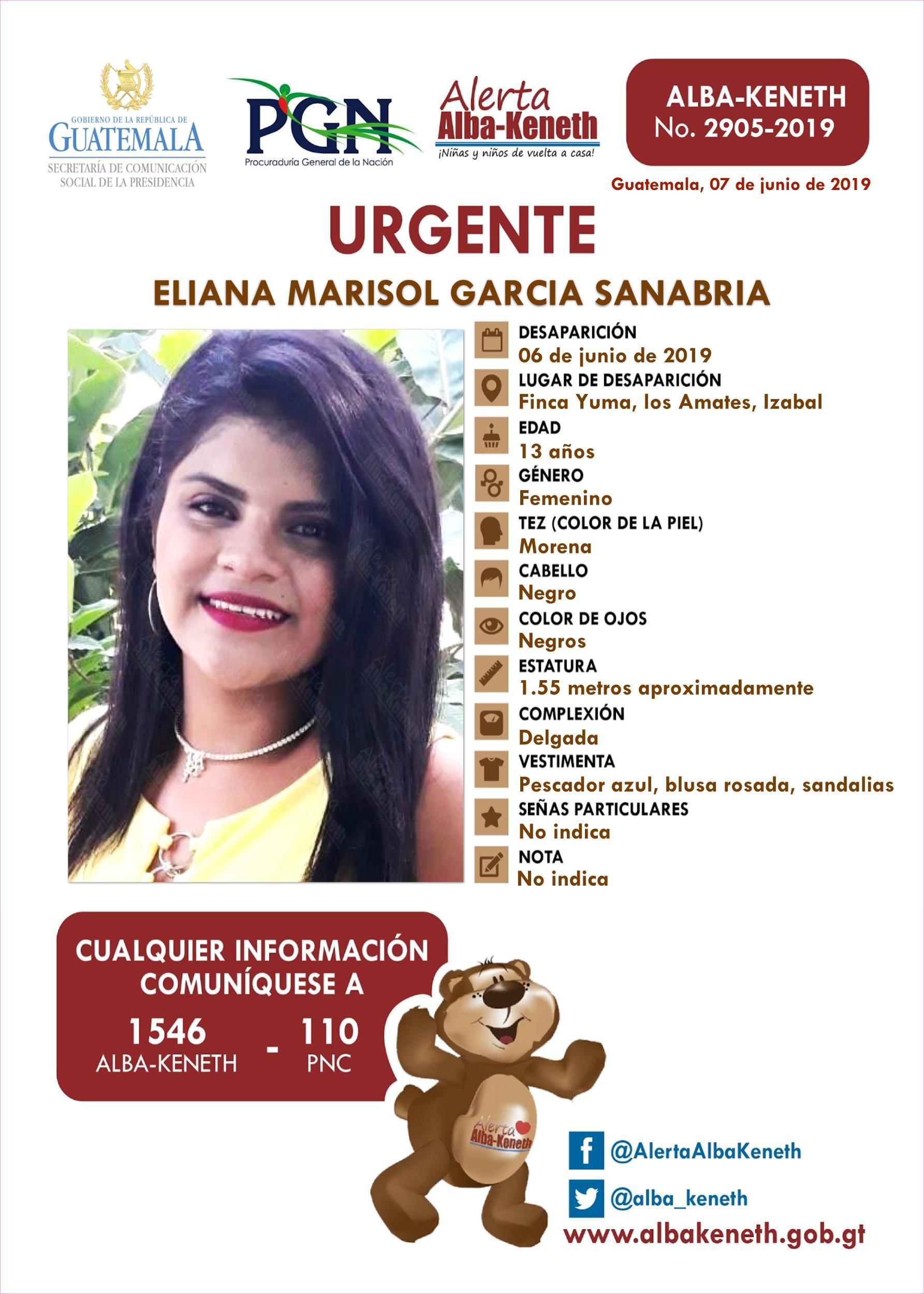 Eliana Marisol Garcia Sanabri