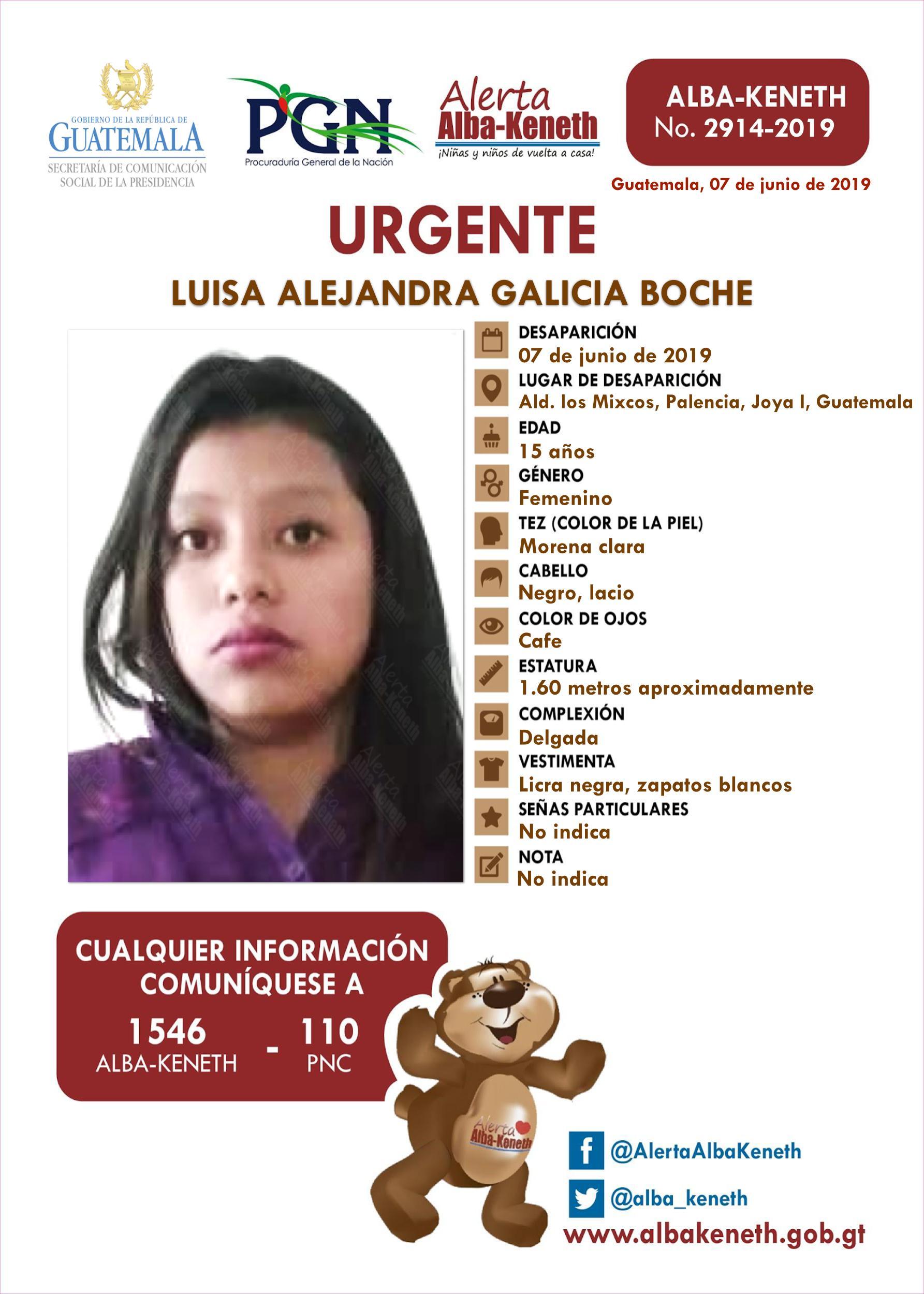 Luisa Alejandra Galicia Boche