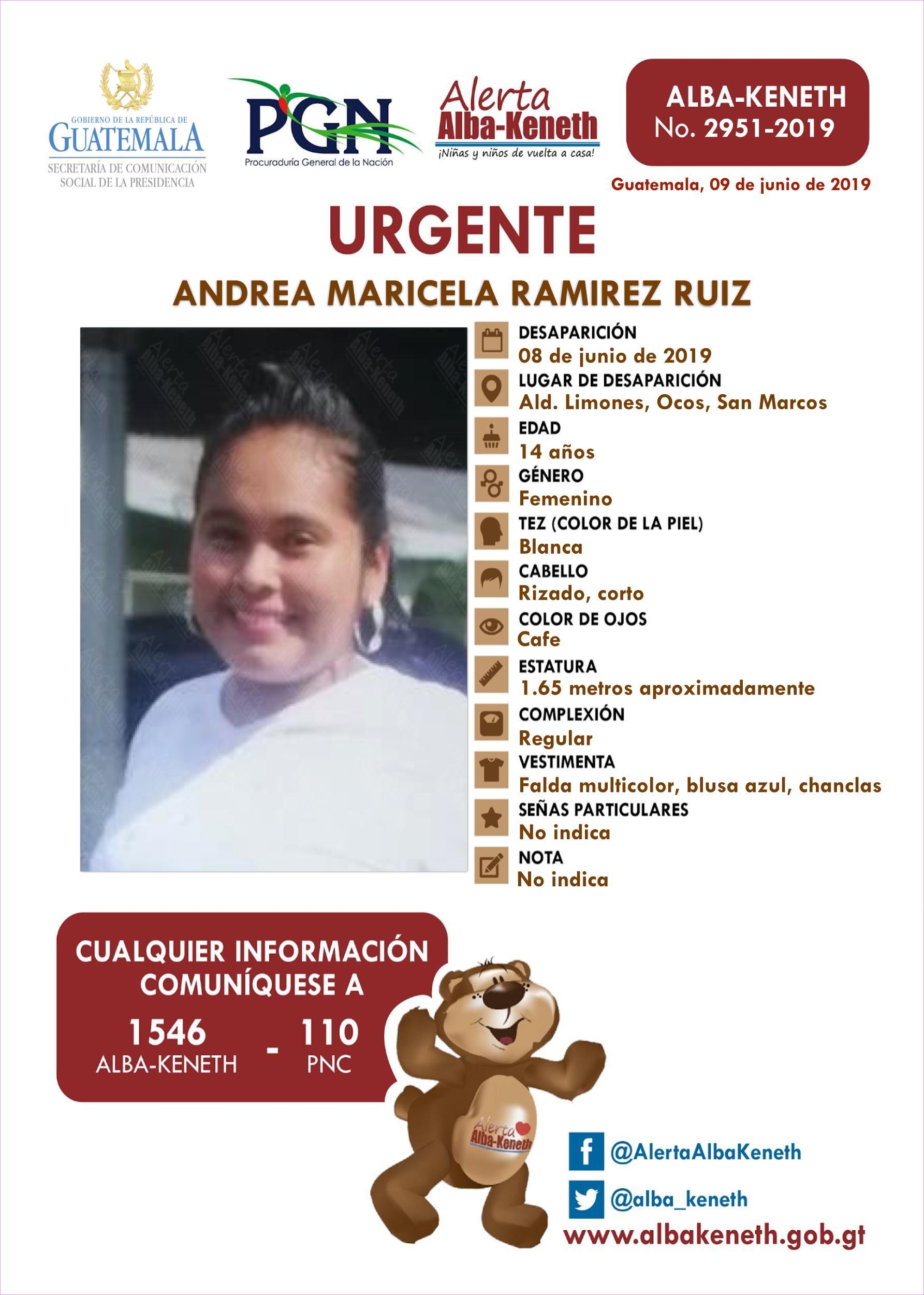 Andrea Maricela Ramirez Ruiz