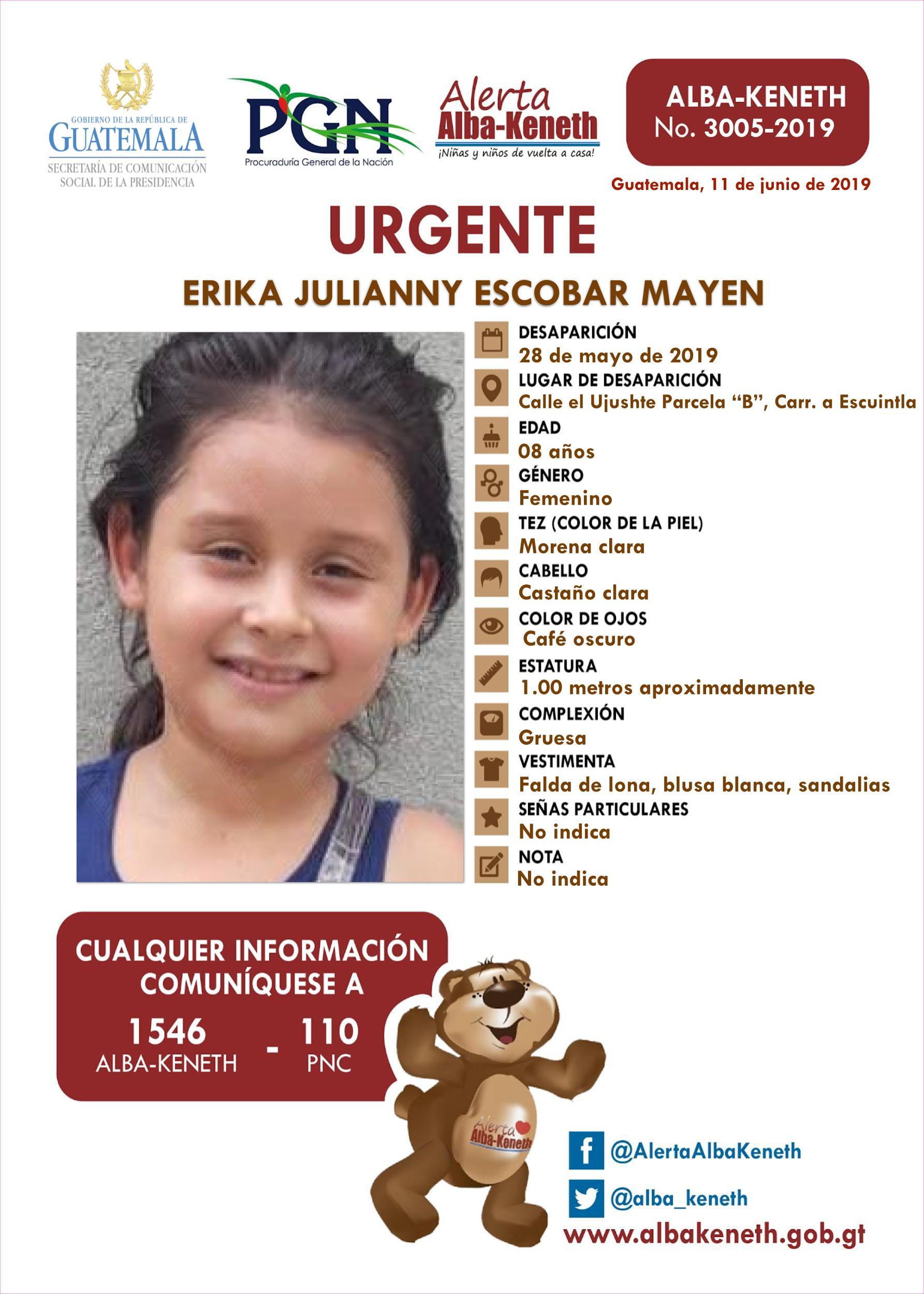 Erika Julianny Escobar Mayen