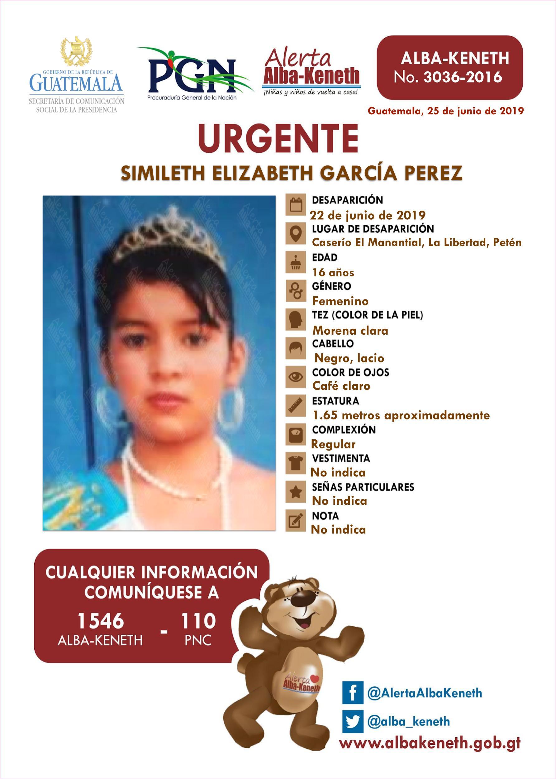 Simileth Elizabeth Garcia Perez