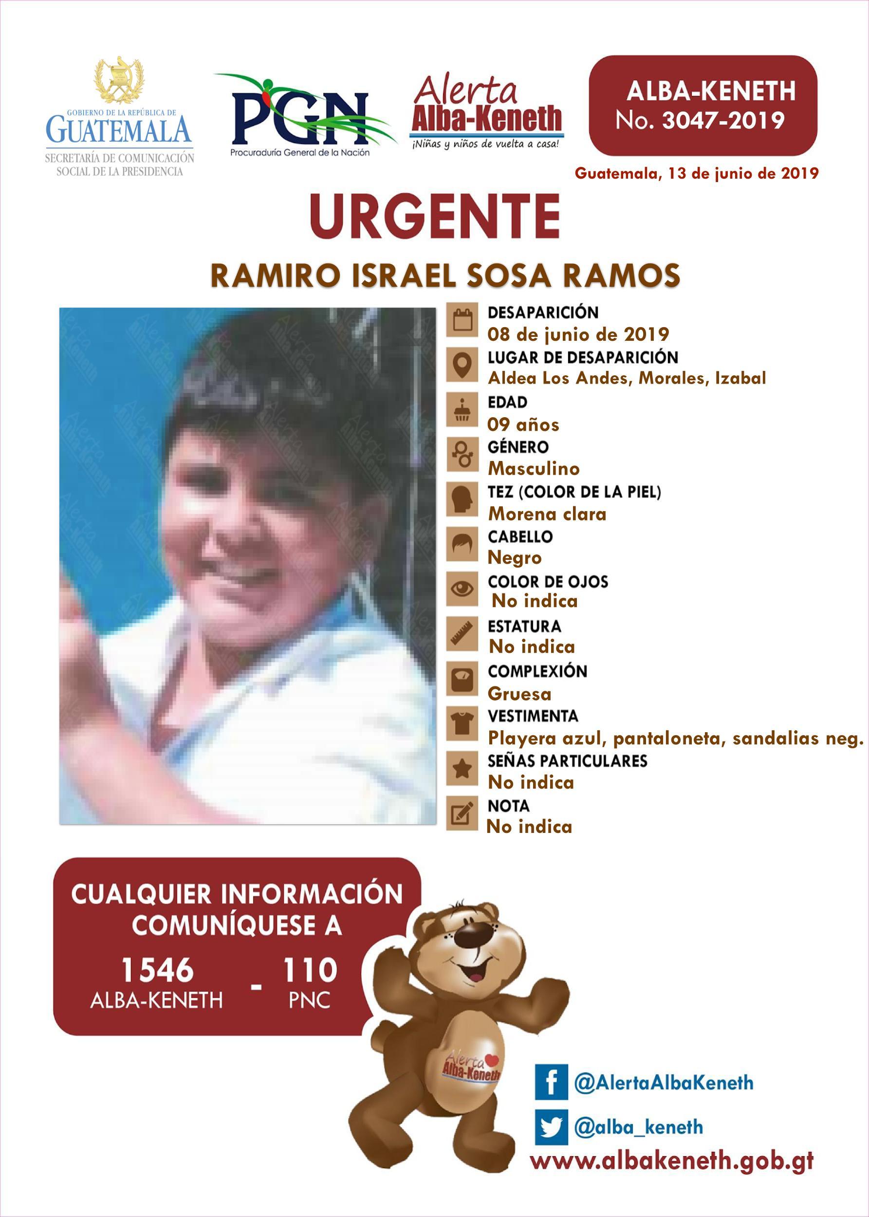Ramiro Israel Sosa Ramos