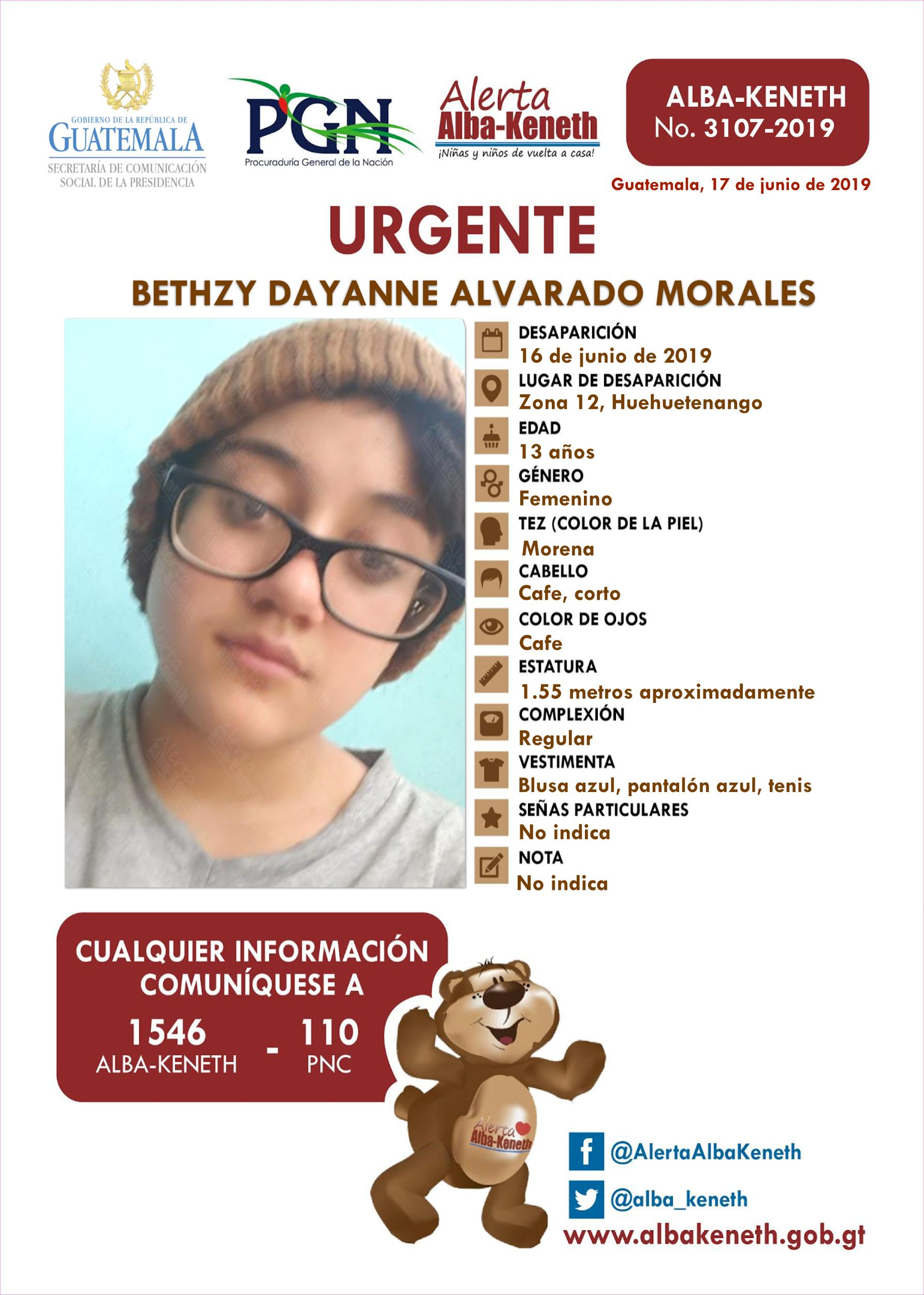 Bethzy Dayanne Alvarado Morales