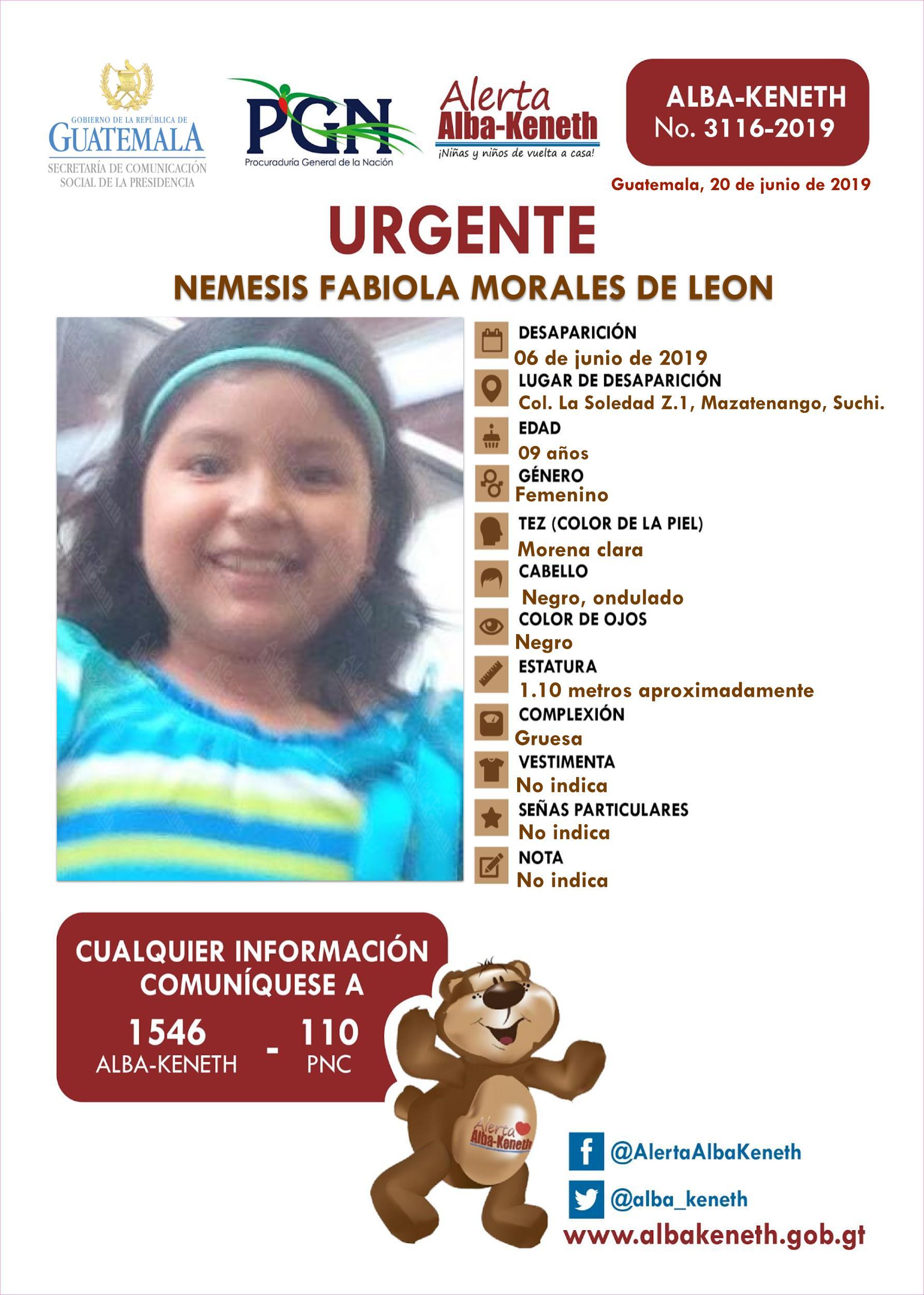 Nemesis Fabiola Morales de Leon