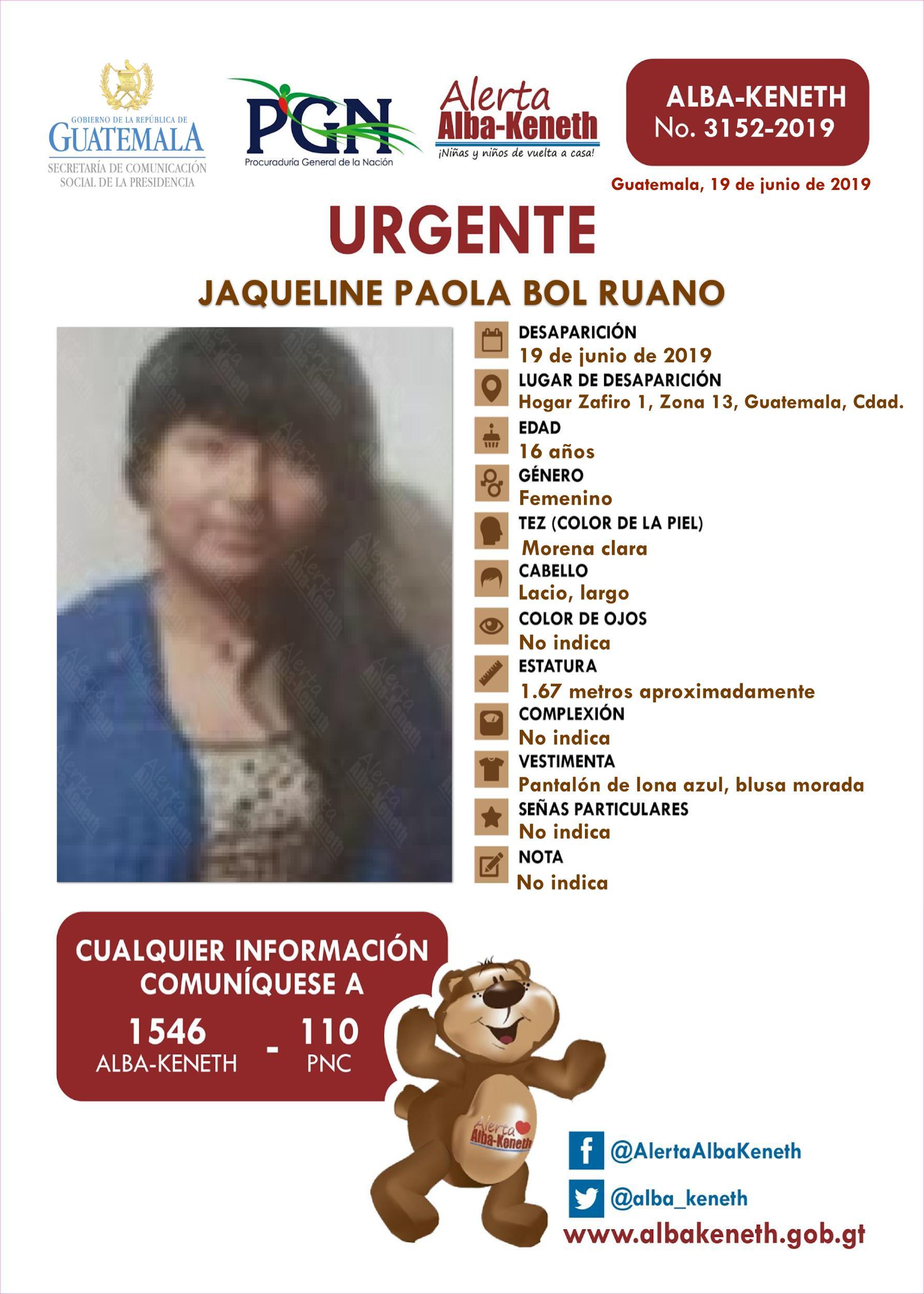 Jaqueline Paola Bol Ruano