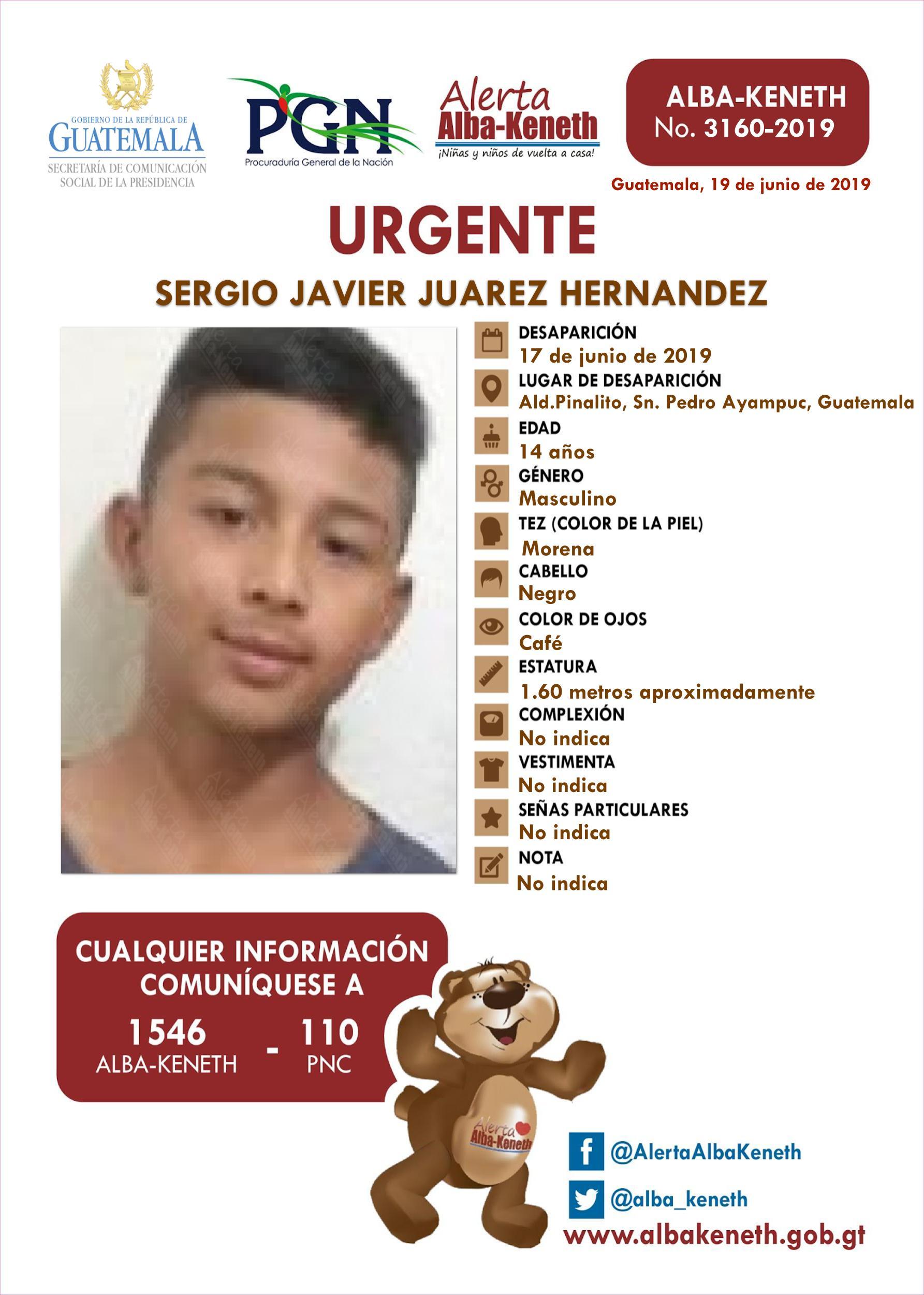 Sergio Javier Juarez Hernandez