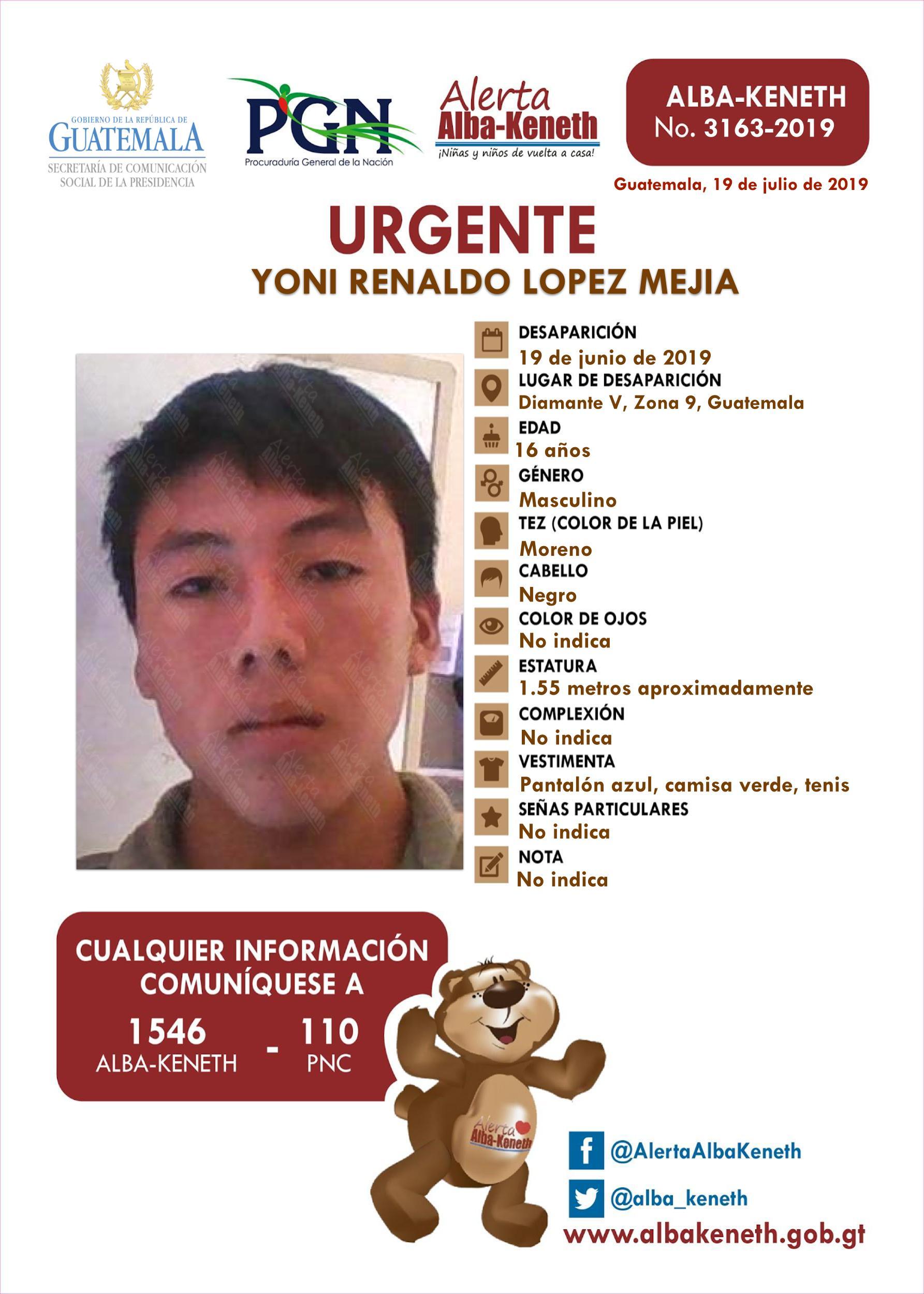 Yoni Relando Lopez Mejia