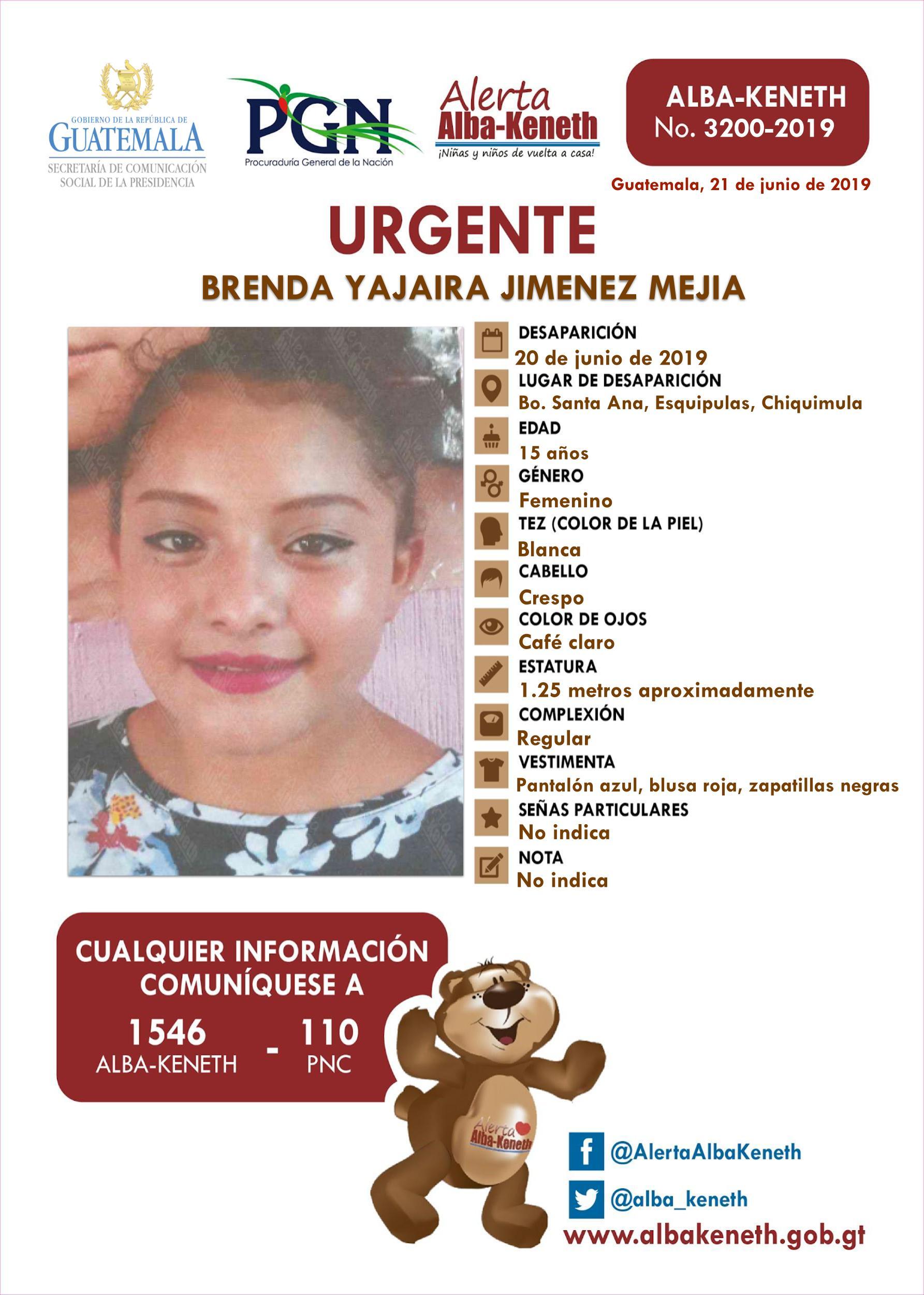 Brenda Yajaira Jimenez Mejia