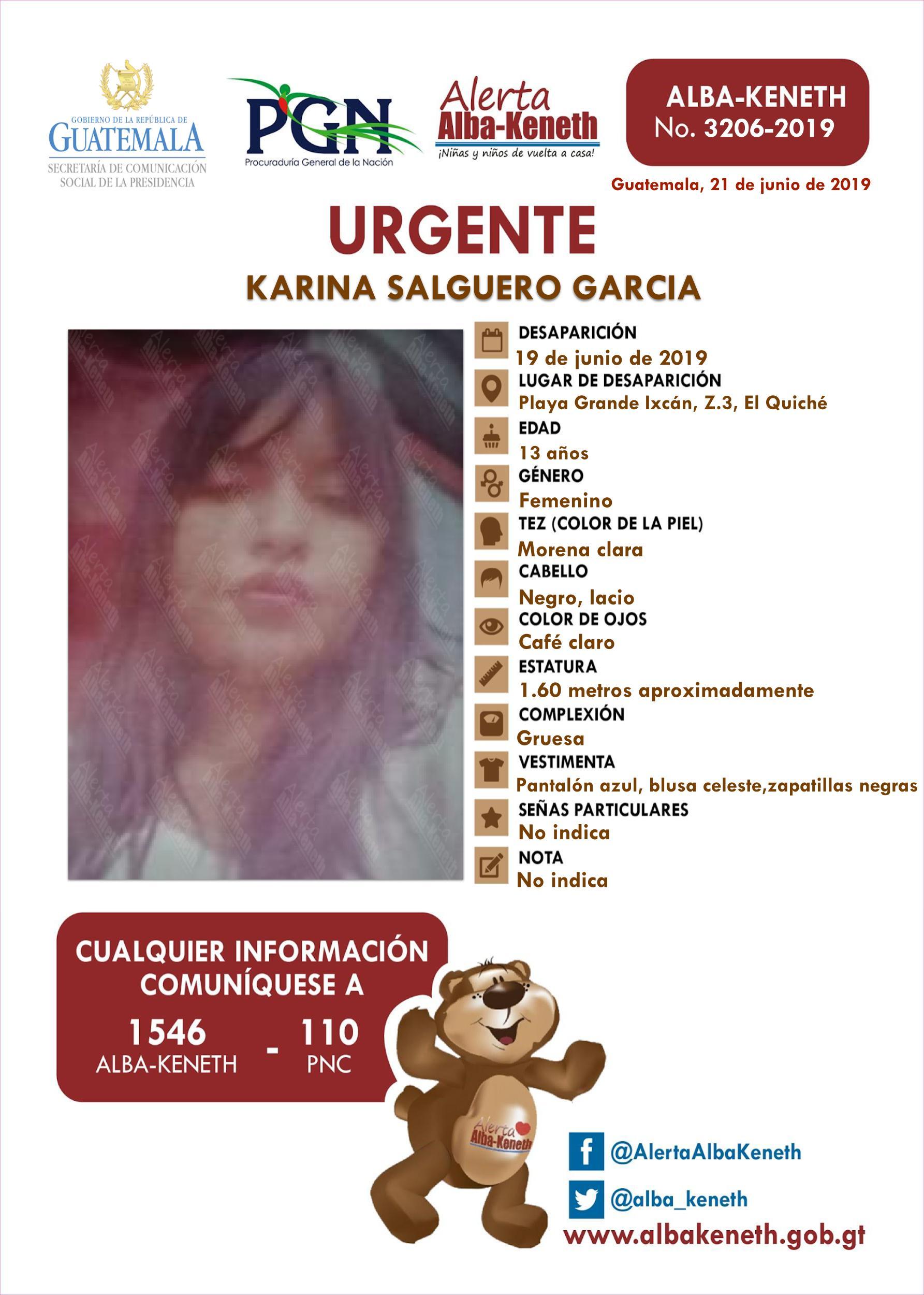 Karina Salguero Garcia