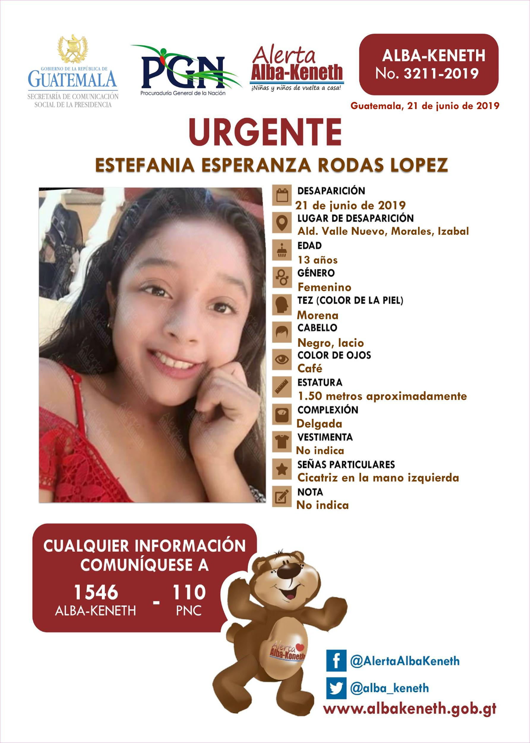Estefania Esperanza Rodas Lopez