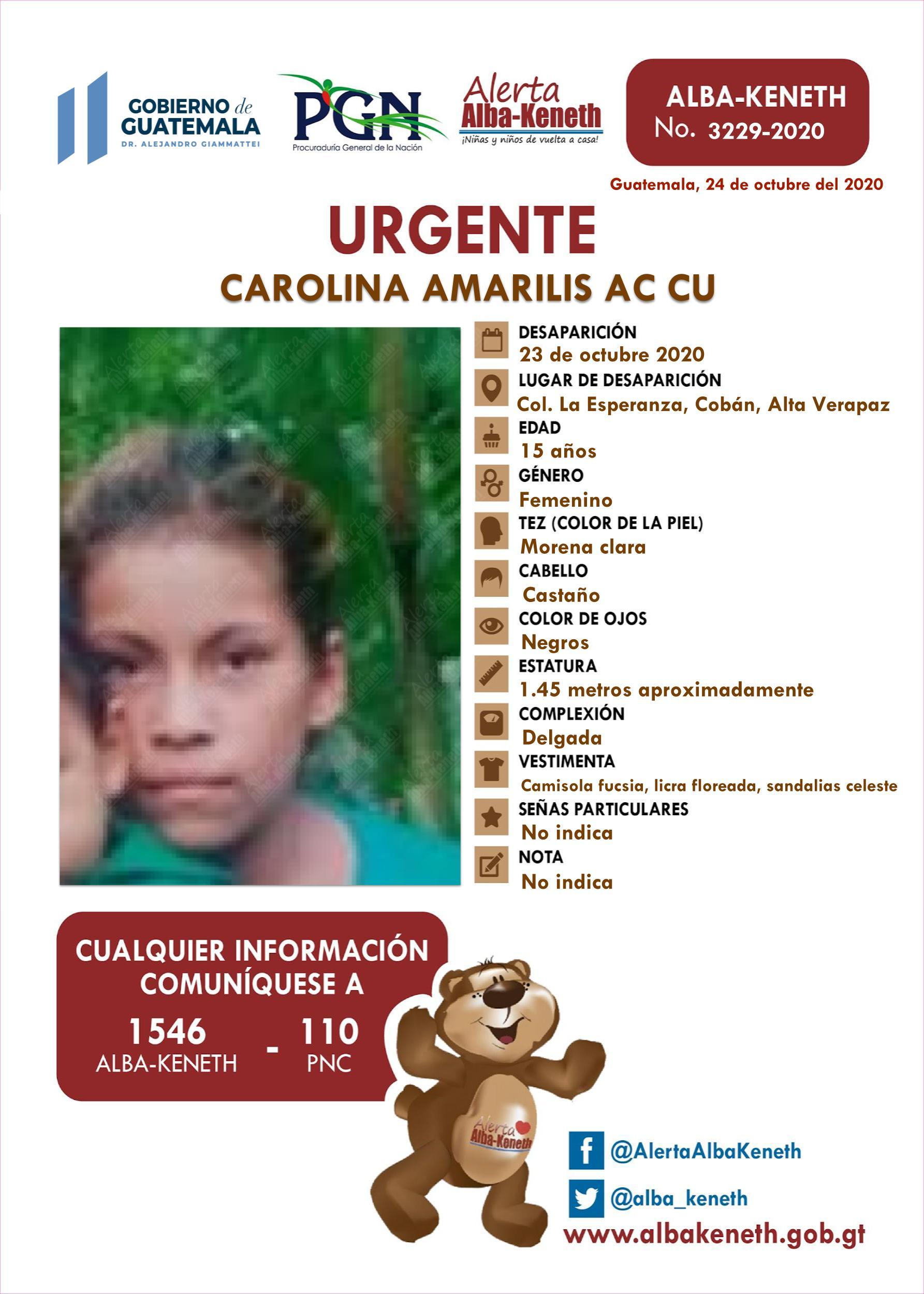 Carolina Amarilis Ac Cu