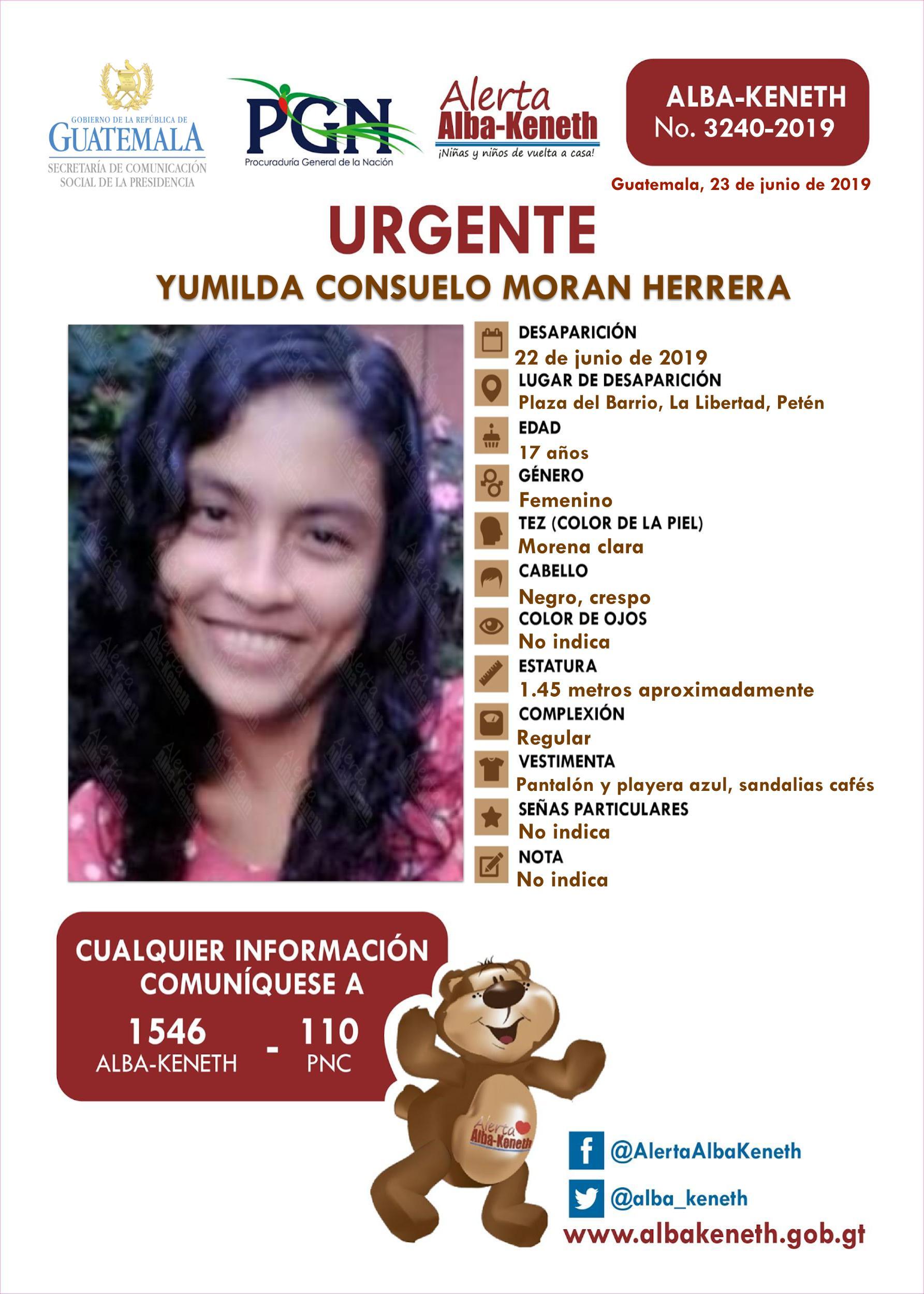 Yumilda Consuelo Moran Herrera