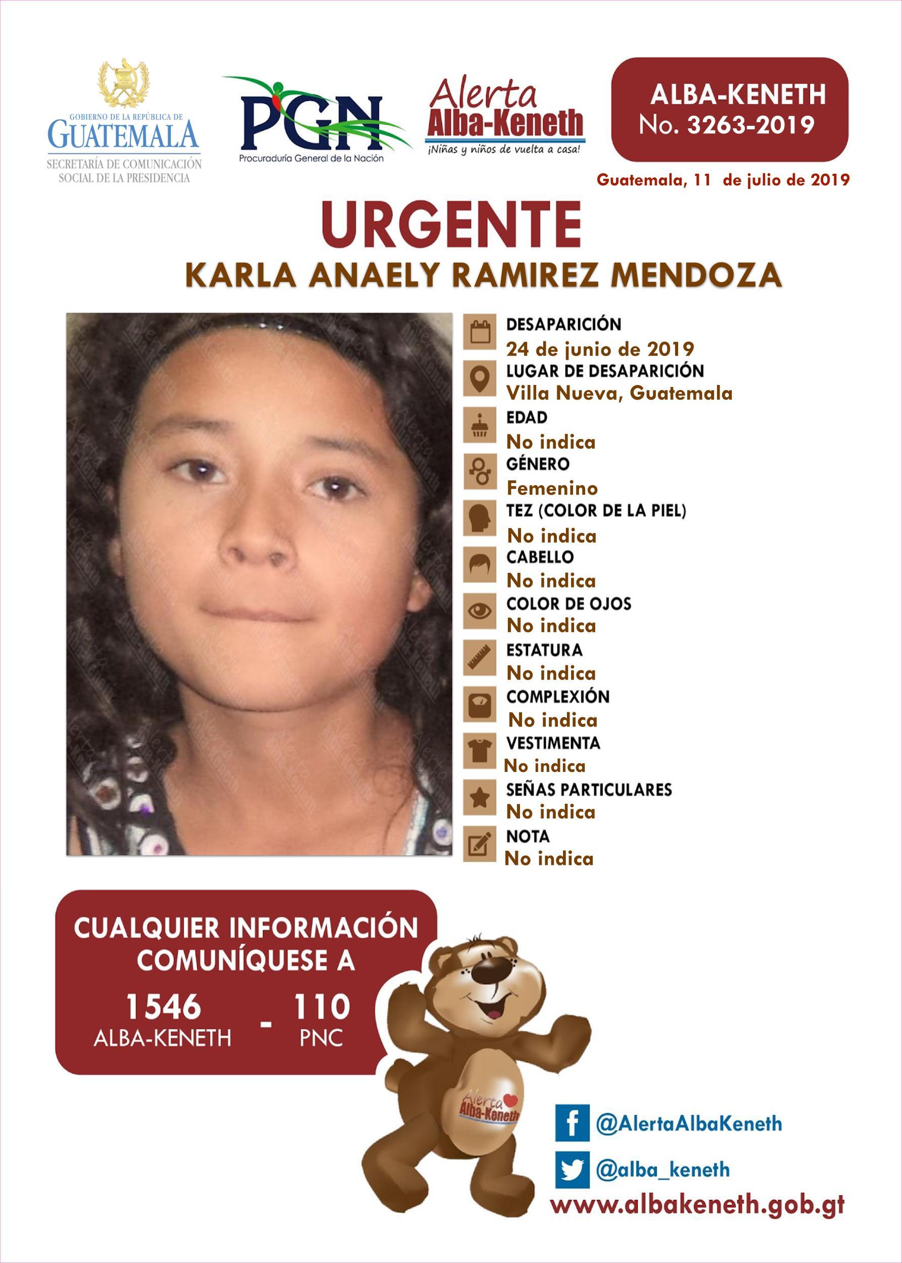 Karla Anaely Ramirez Mendoza