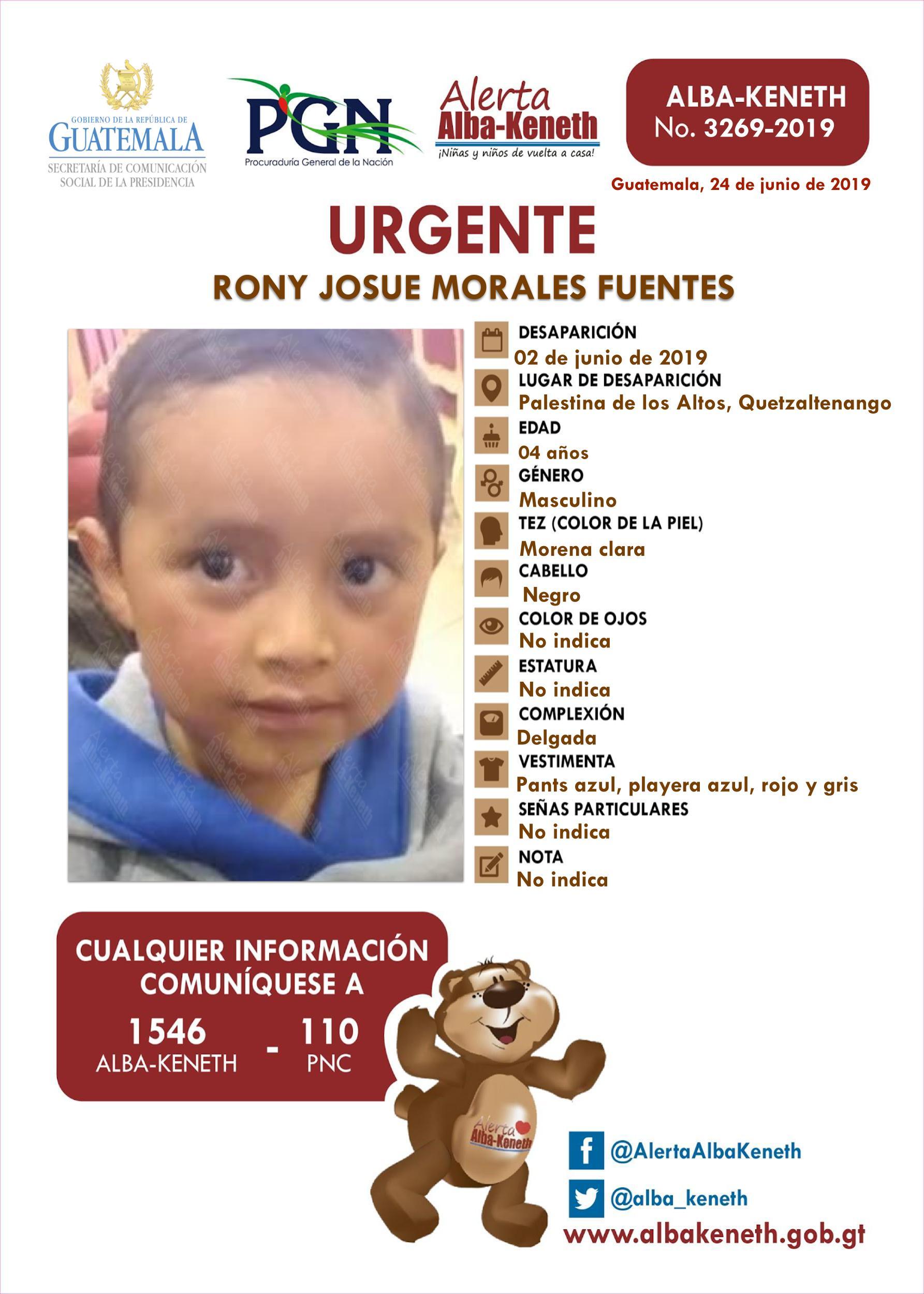 Rony Josue Morales Fuentes
