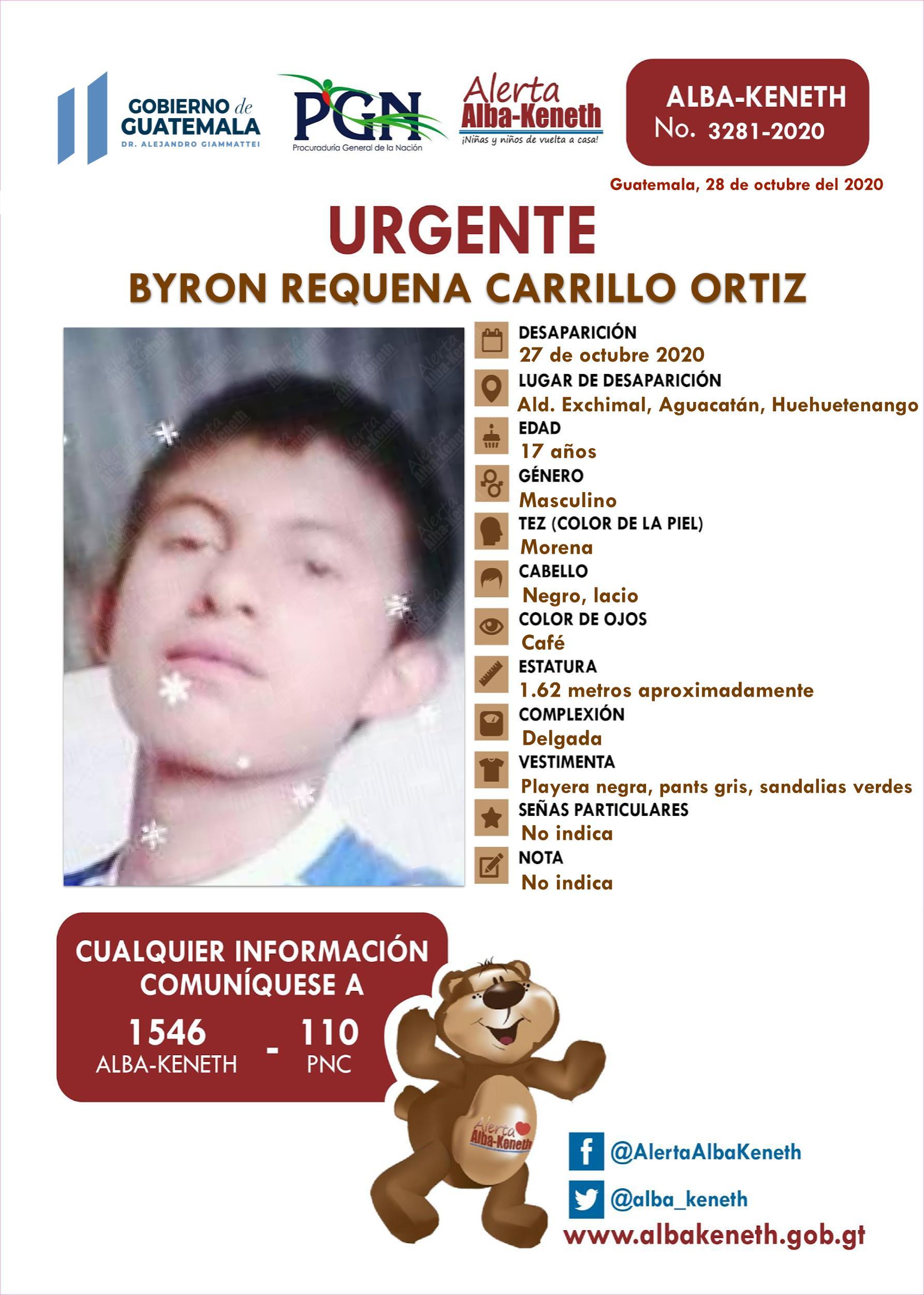 Byron Requena Carrillo Ortiz