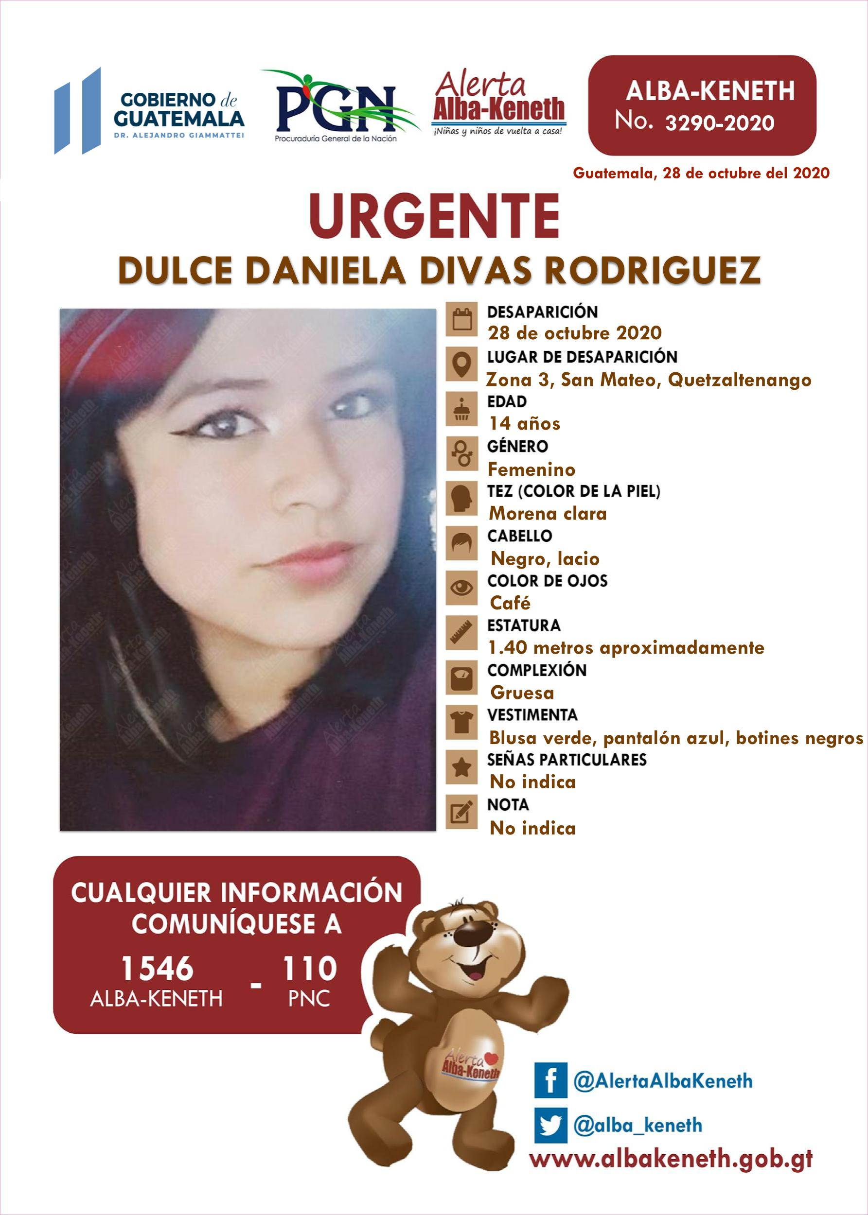 Dulce Daniela Divas Rodriguez