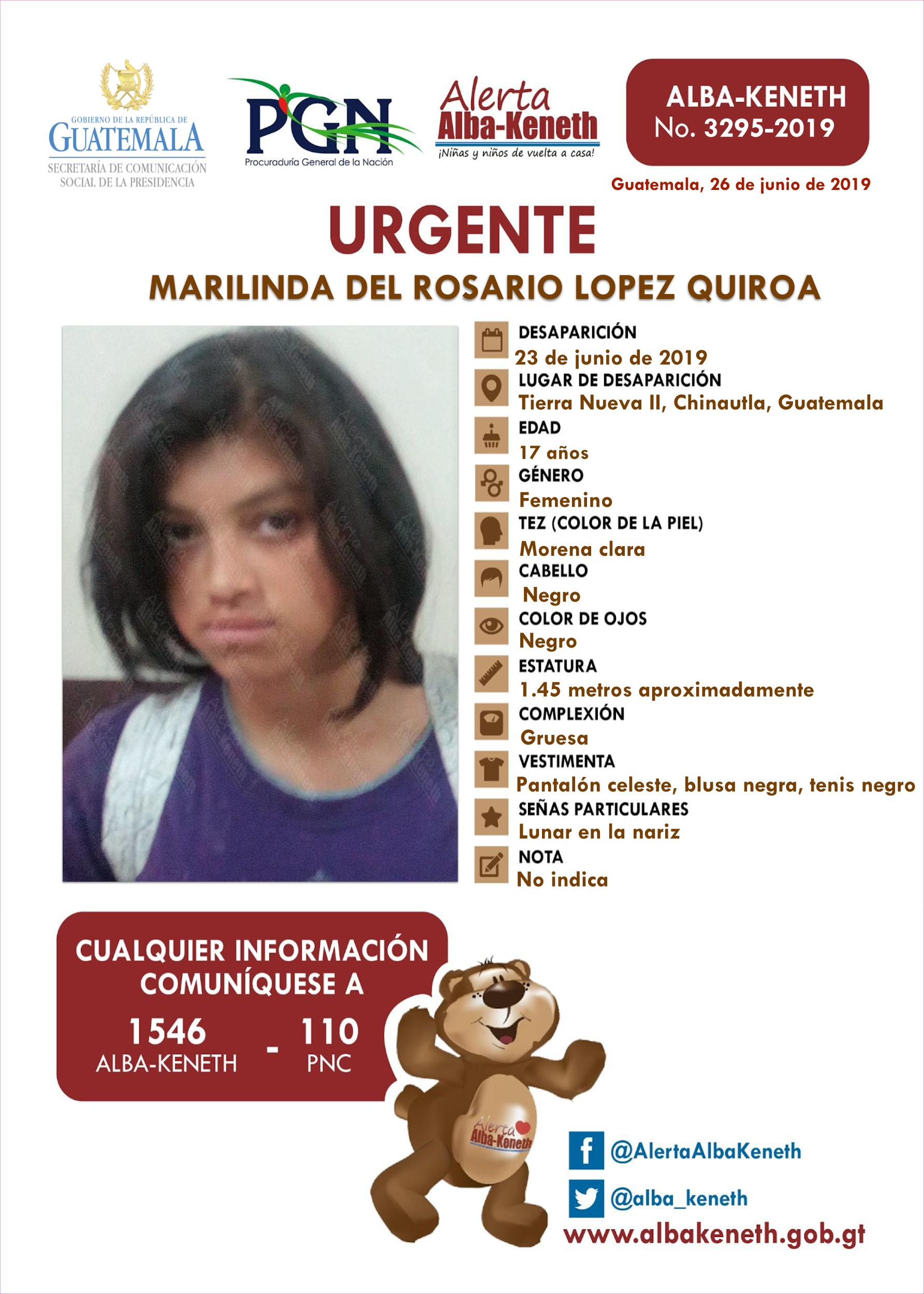 Marilinda del Rosario Lopez Quiroa