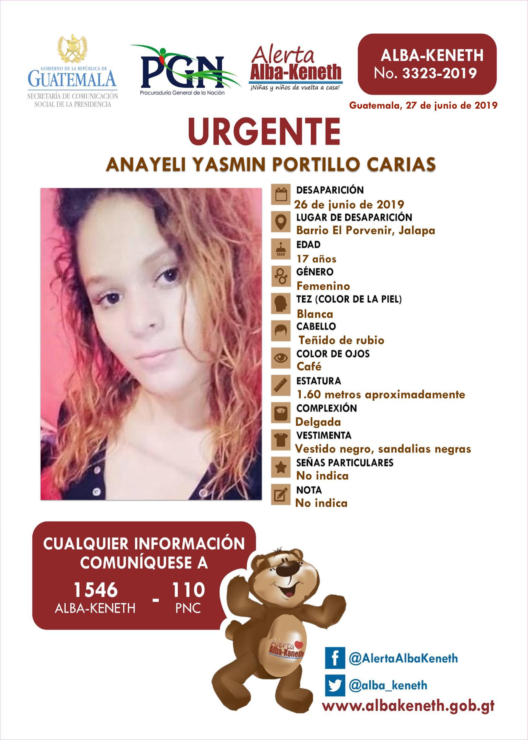 Anayeli Yasmin Portillo Carias
