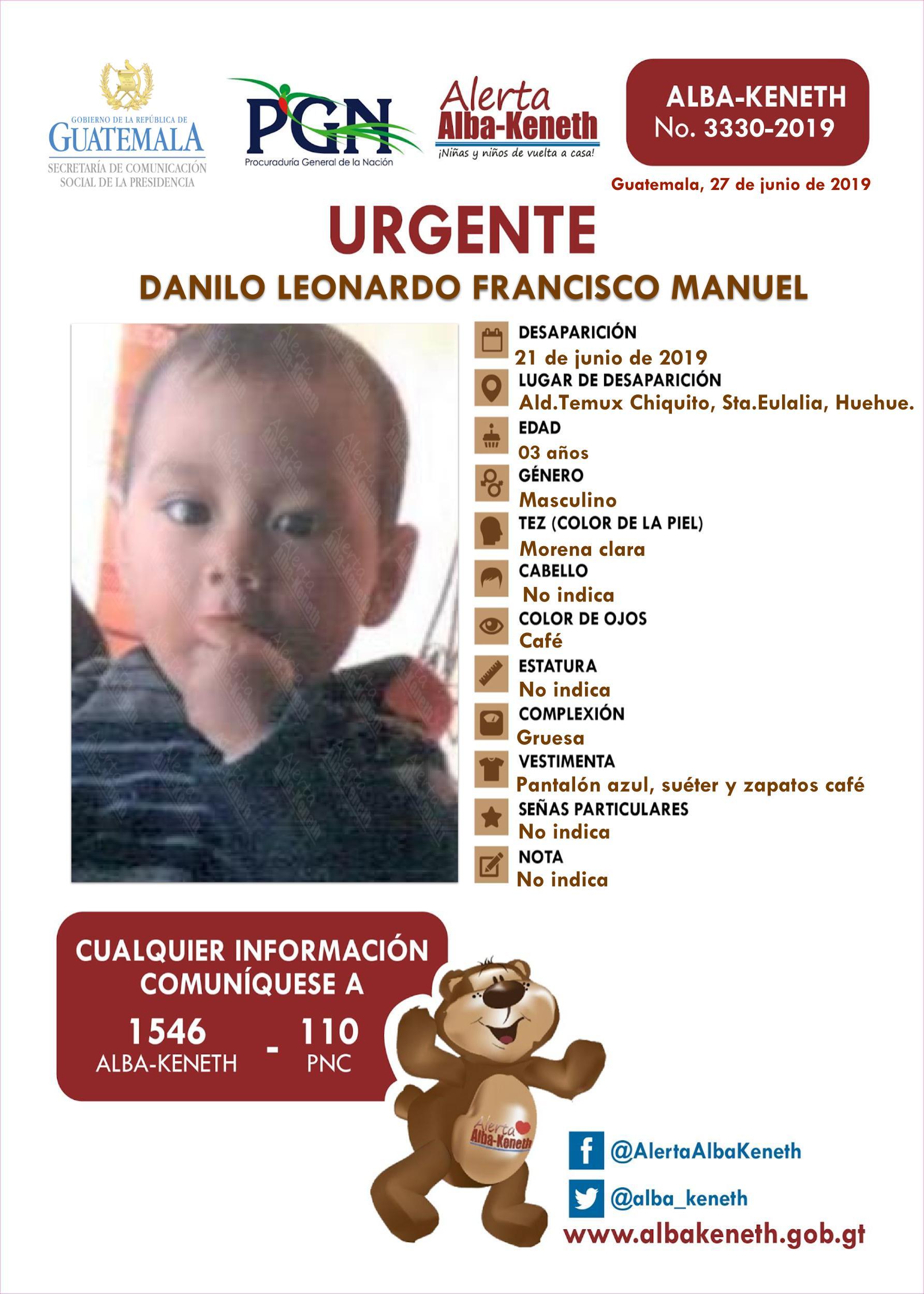 Danilo Leonardo Francisco Manuel