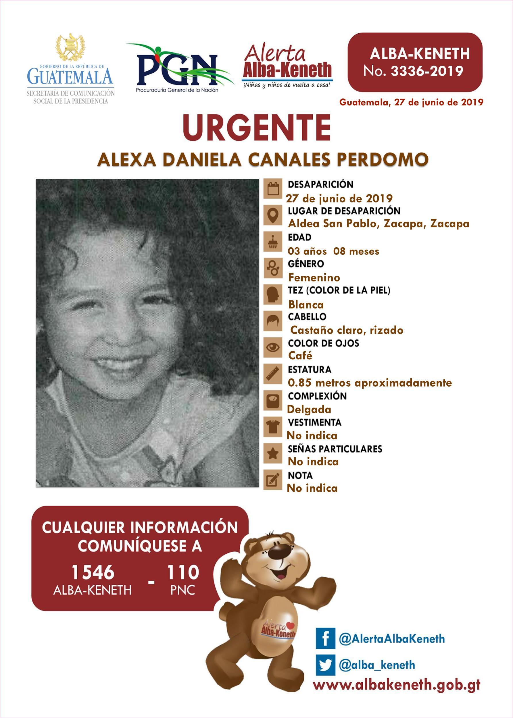 Alexa Daniela Canales Perdomo
