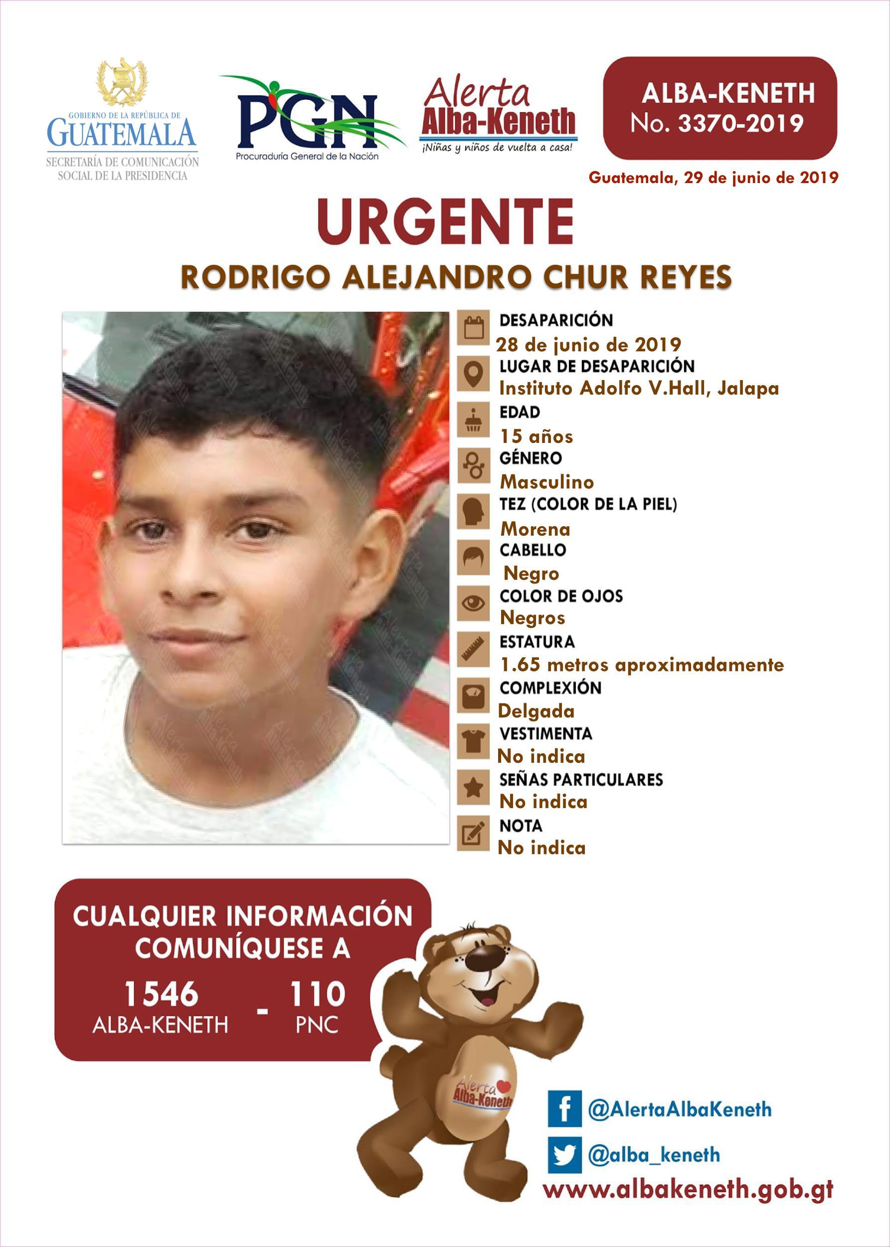 Rodrigo Alejandro Chur Reyes