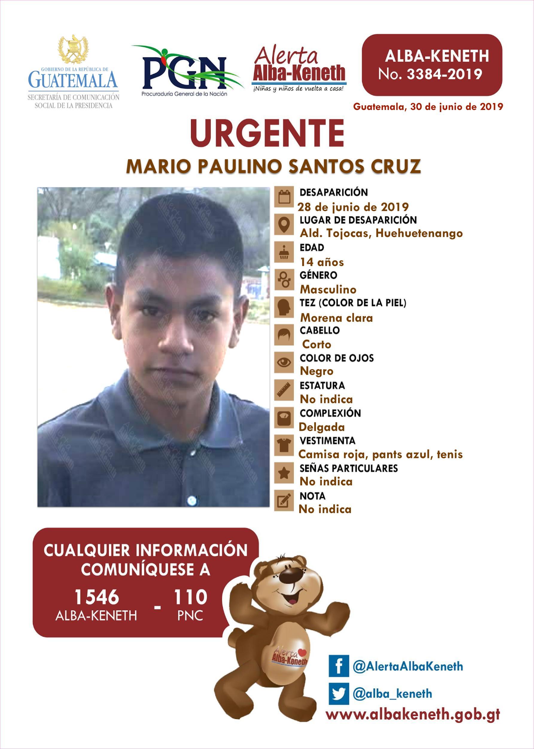 Mario Paulino Santos Cruz