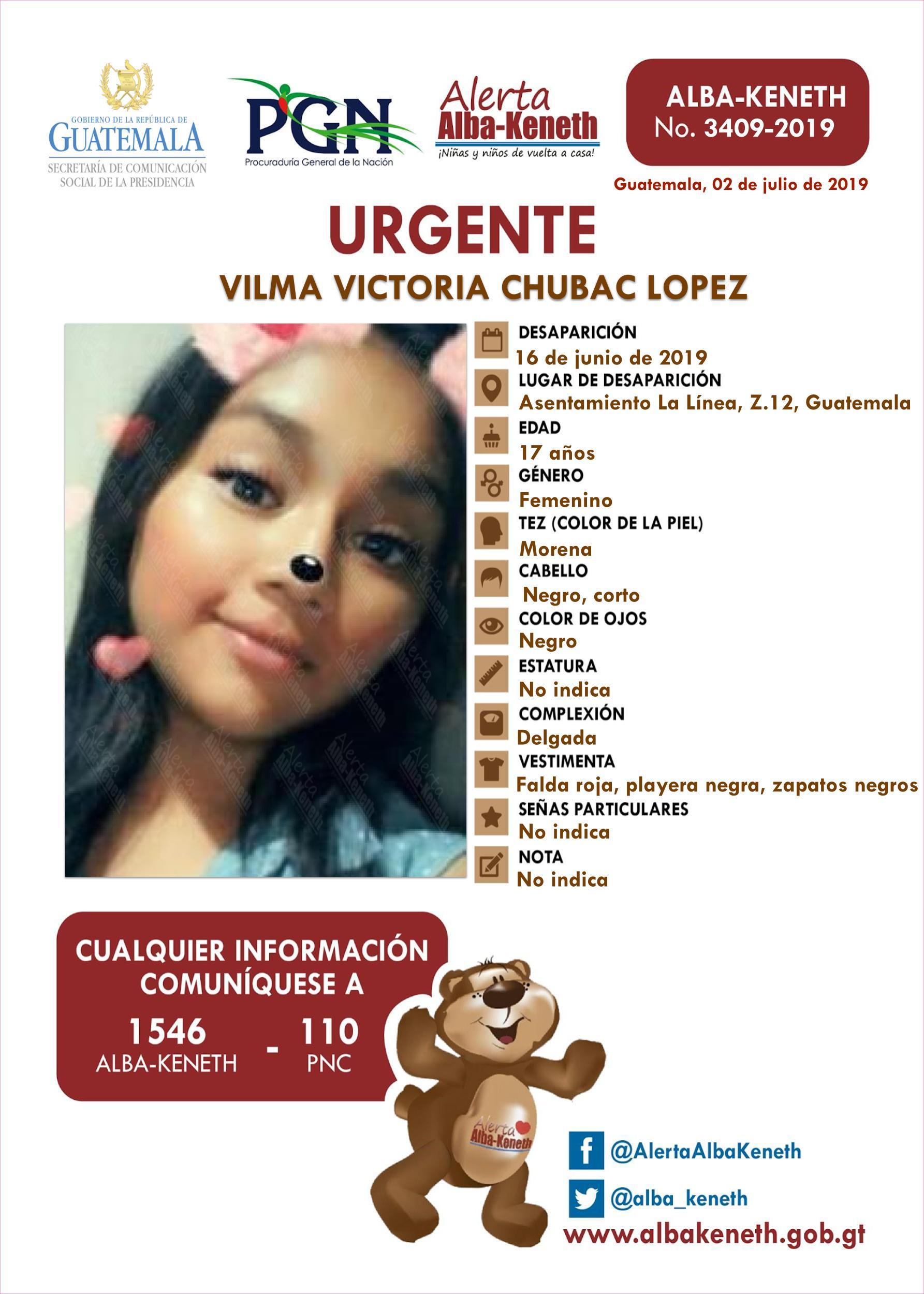 Vilma Victoria Chubac Lopez