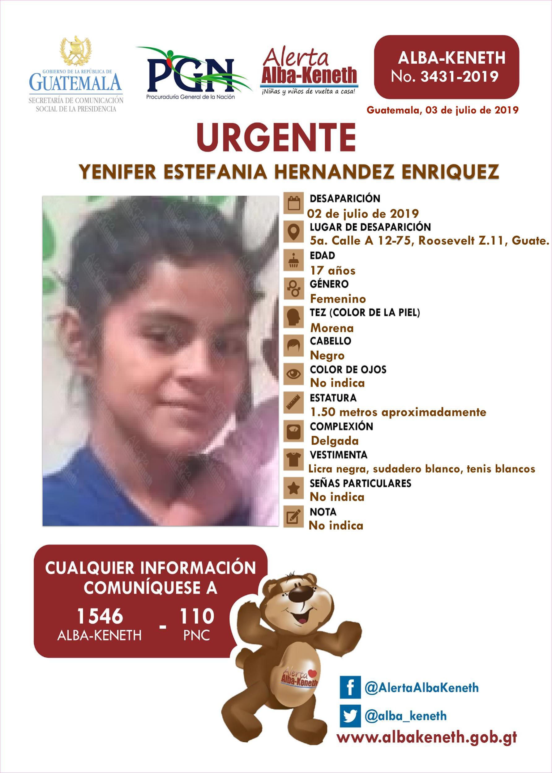 Yenifer Estefania Hernandez Enriquez