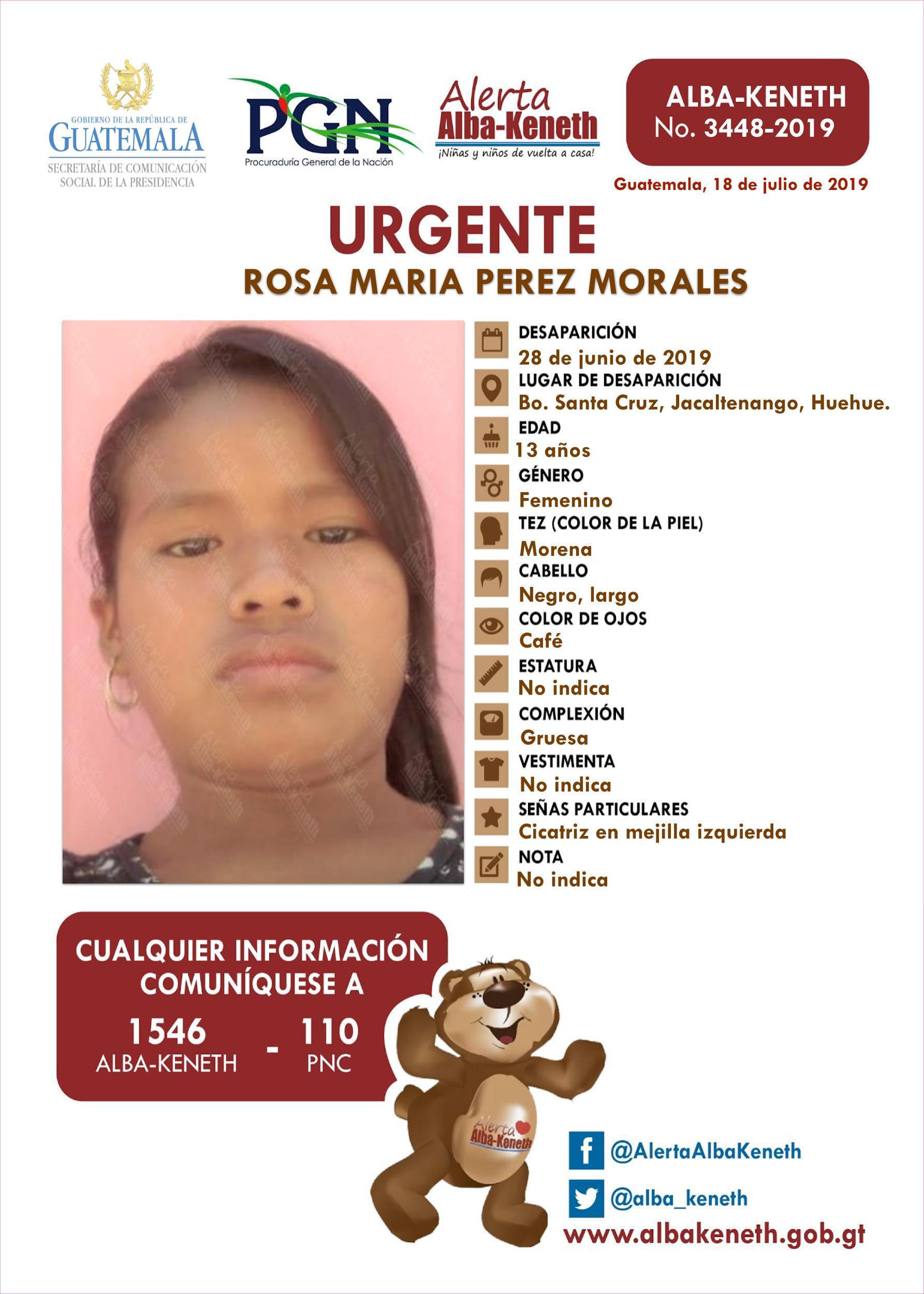 Rosa Maria Perez Morales