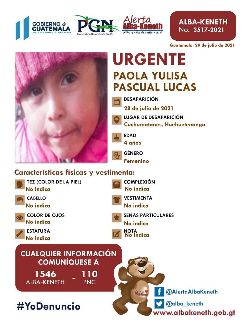 Paola Yulisa Pascual Lucas