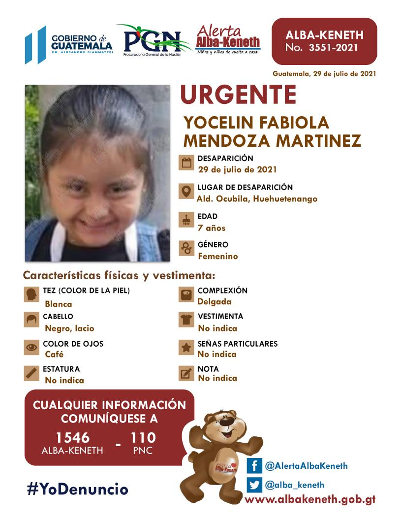 Yocelin Fabiola Mendoza Martinez