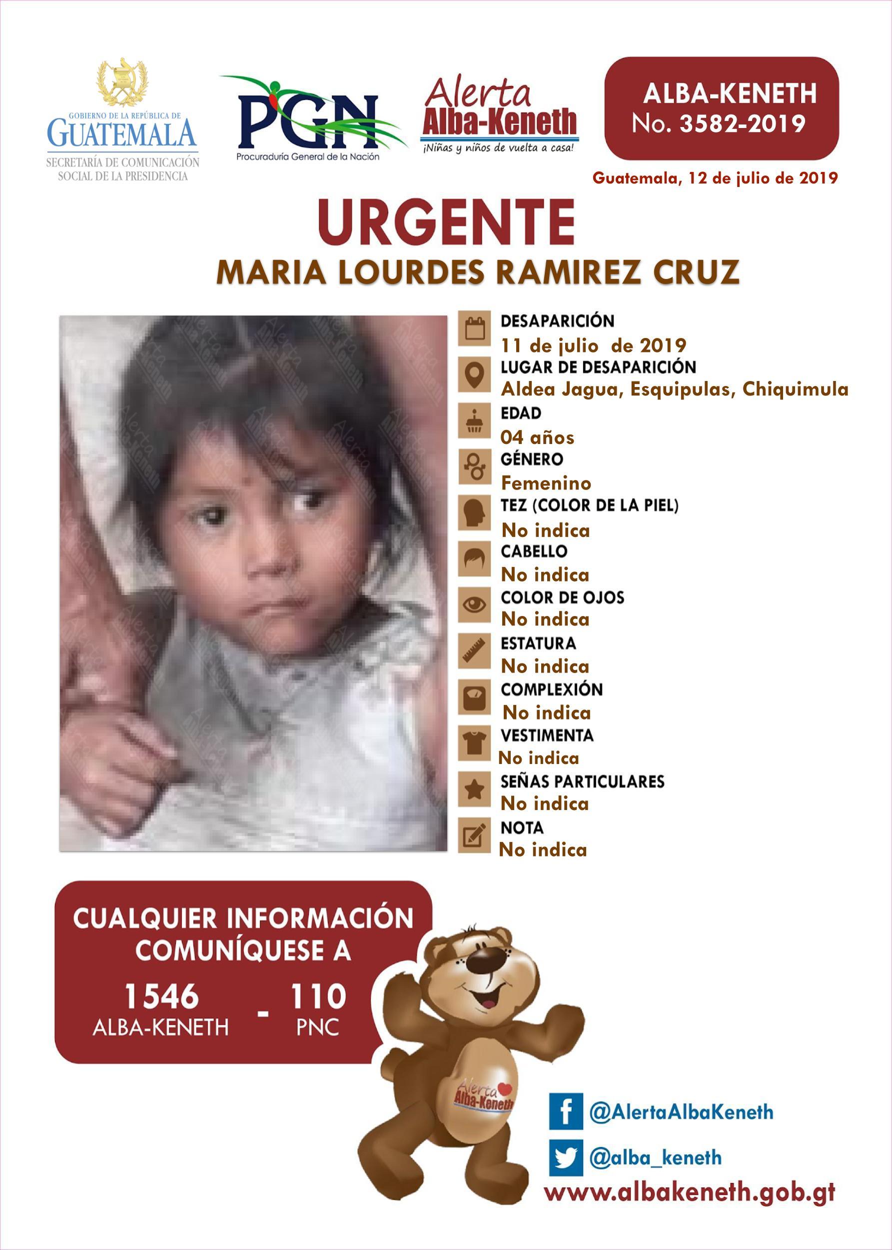 Maria Lourdes Ramirez Cruz