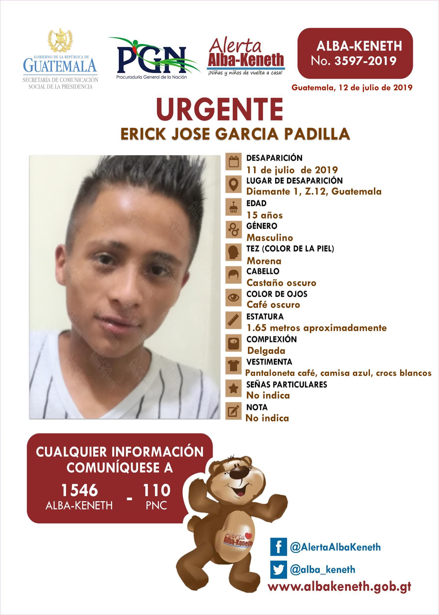 Erick Jose Garcia Padilla