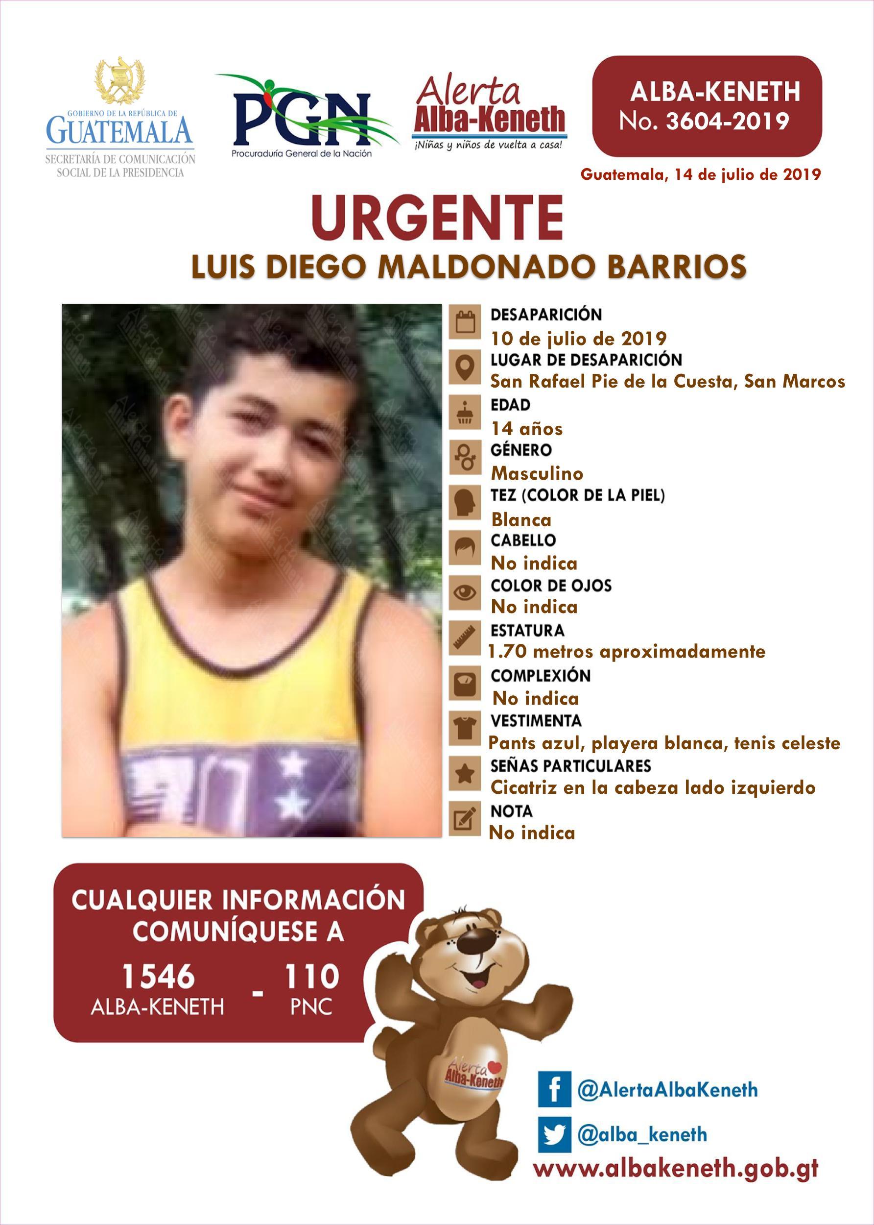 Luis Diego Maldonado Barrios